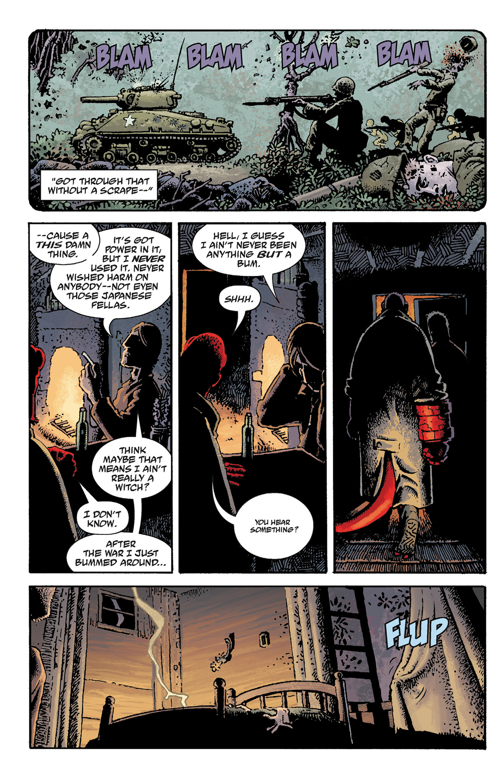 Read online Hellboy: The Crooked Man and Others comic -  Issue # TPB - 24