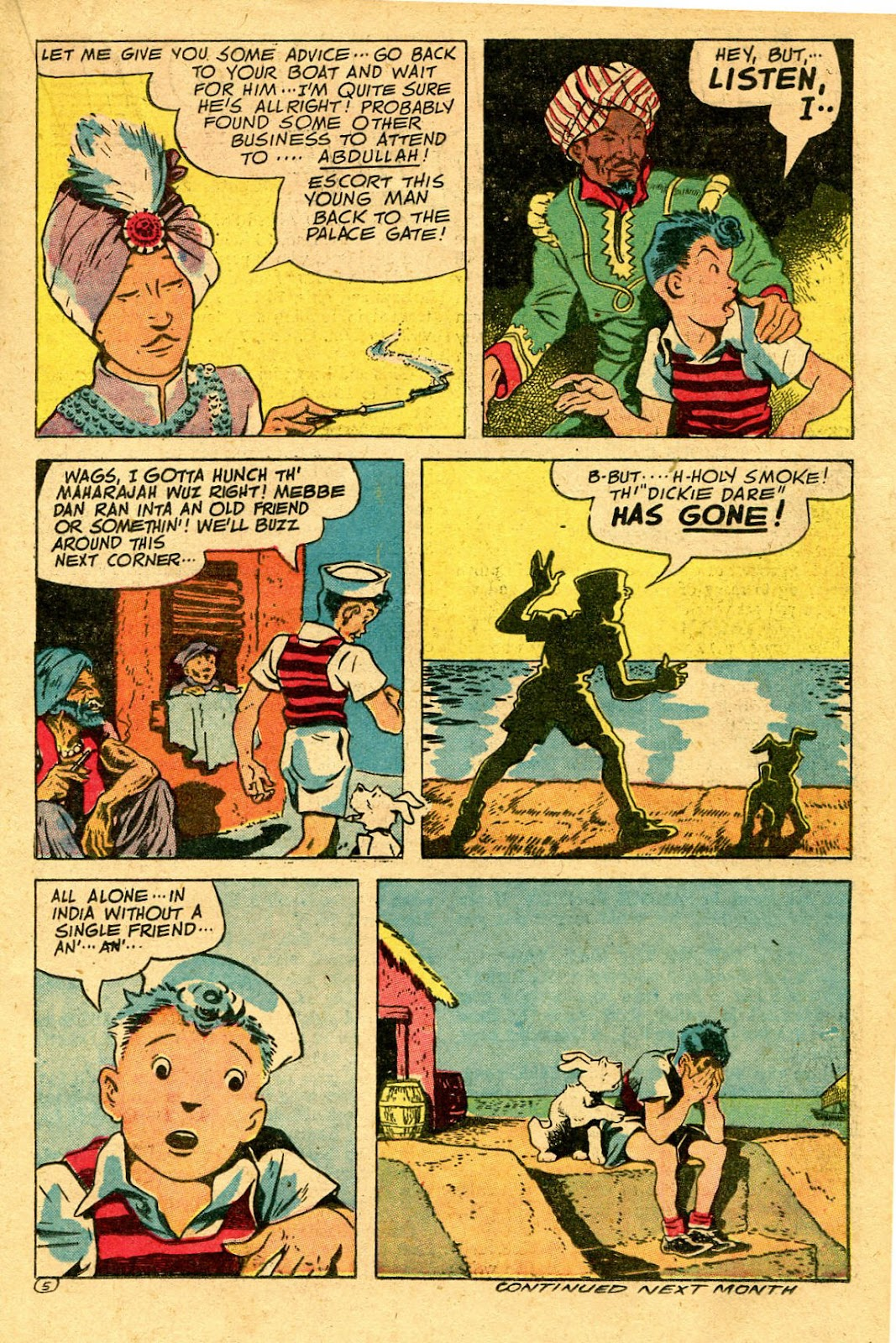 Read online Famous Funnies comic -  Issue #130 - 25