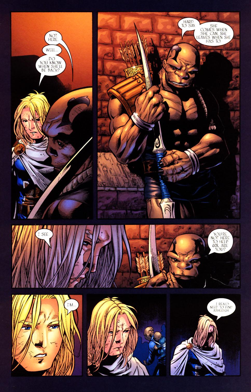 Read online Scion comic -  Issue #10 - 9