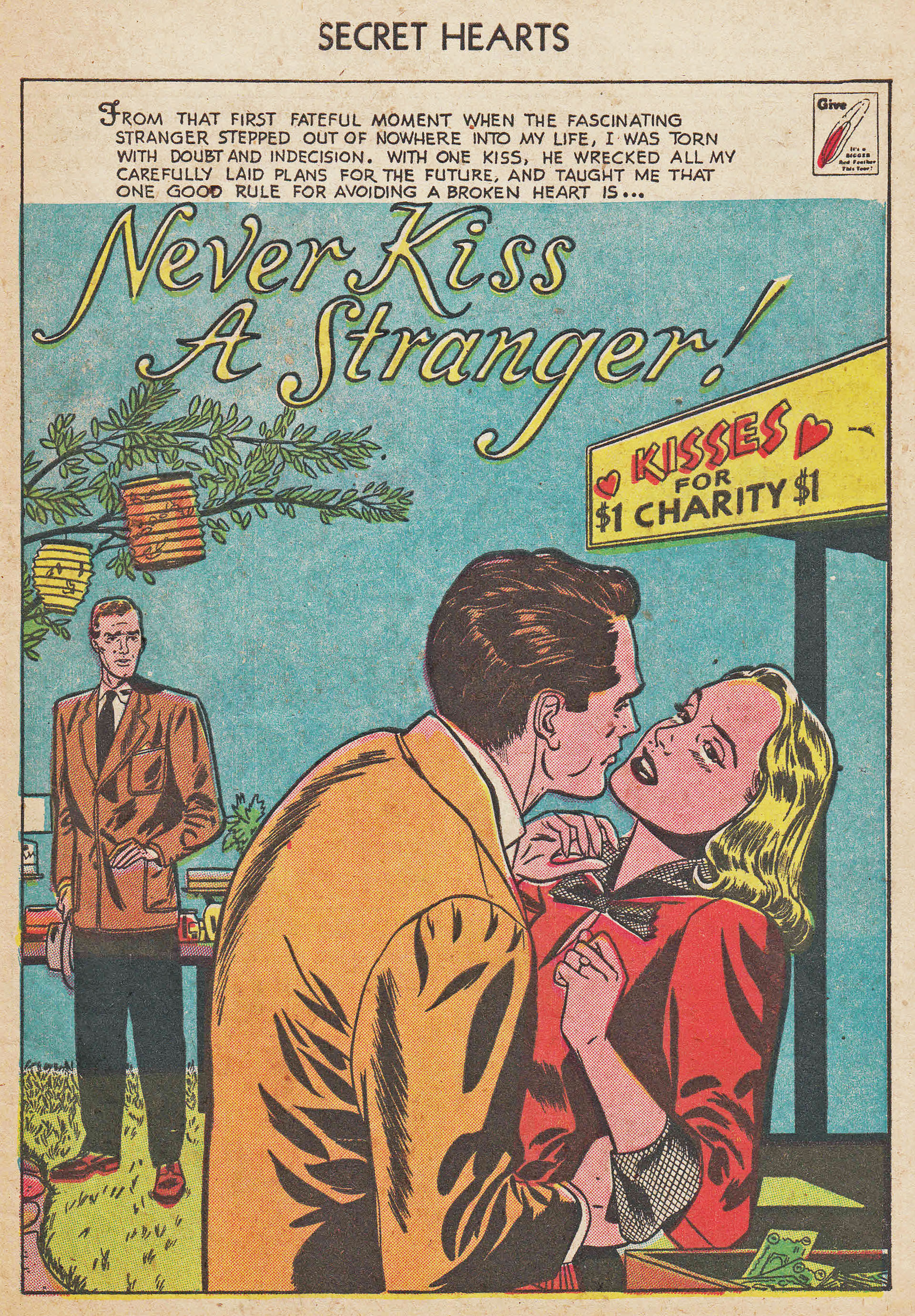 Read online Secret Hearts comic -  Issue #7 - 27
