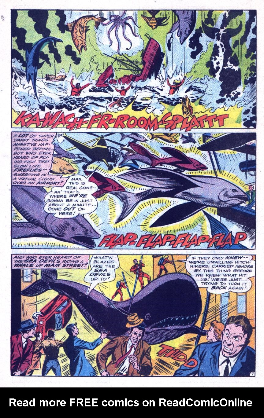 Read online Sea Devils comic -  Issue #31 - 11