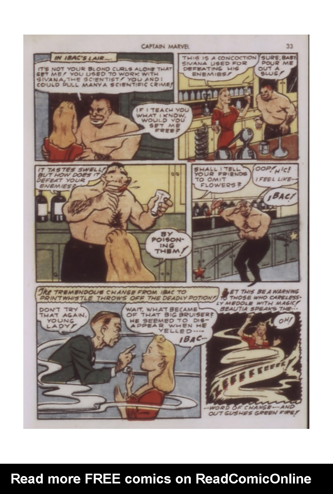 Captain Marvel Adventures issue 9 - Page 33