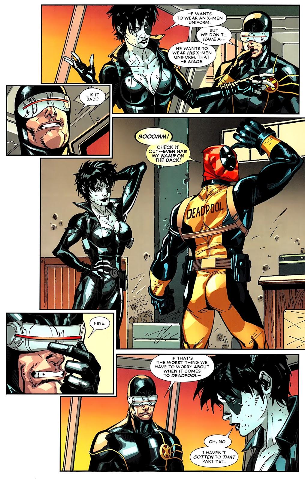Read online Deadpool (2008) comic -  Issue #16 - 22