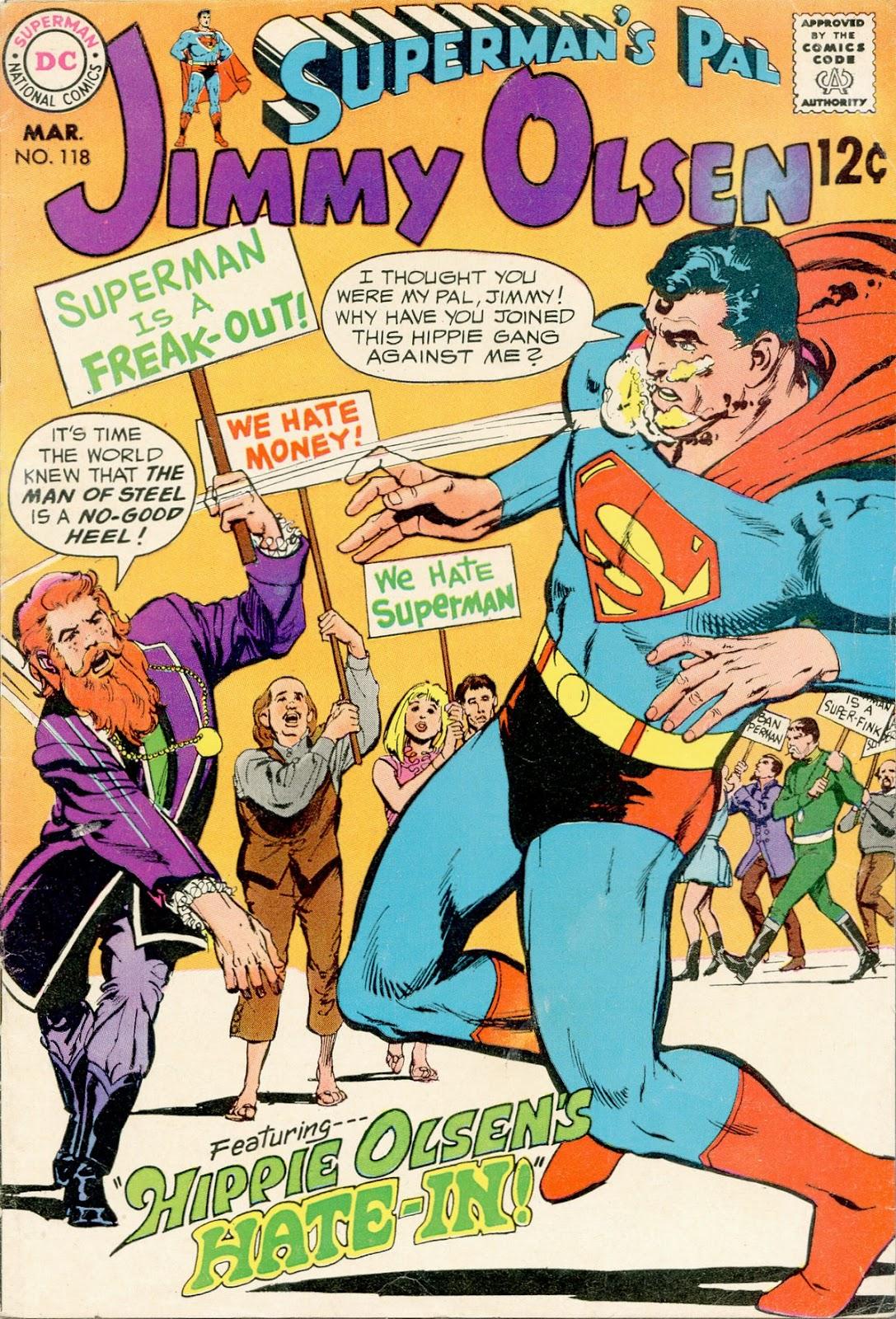Supermans Pal Jimmy Olsen (1954) 118 Page 1
