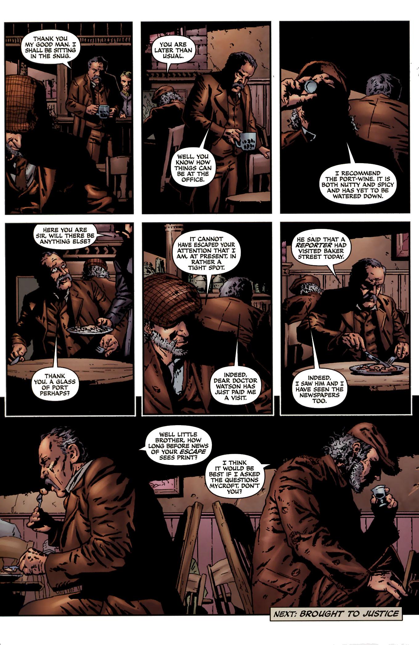 Read online Sherlock Holmes (2009) comic -  Issue #3 - 28