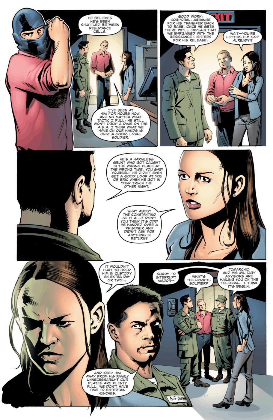 Read online Jericho Season 4 comic -  Issue #2 - 7