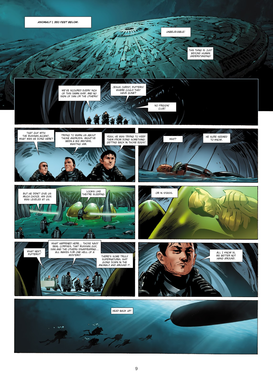 Read online Olympus Mons Vol. 1: Anomaly One comic -  Issue #5 - 9