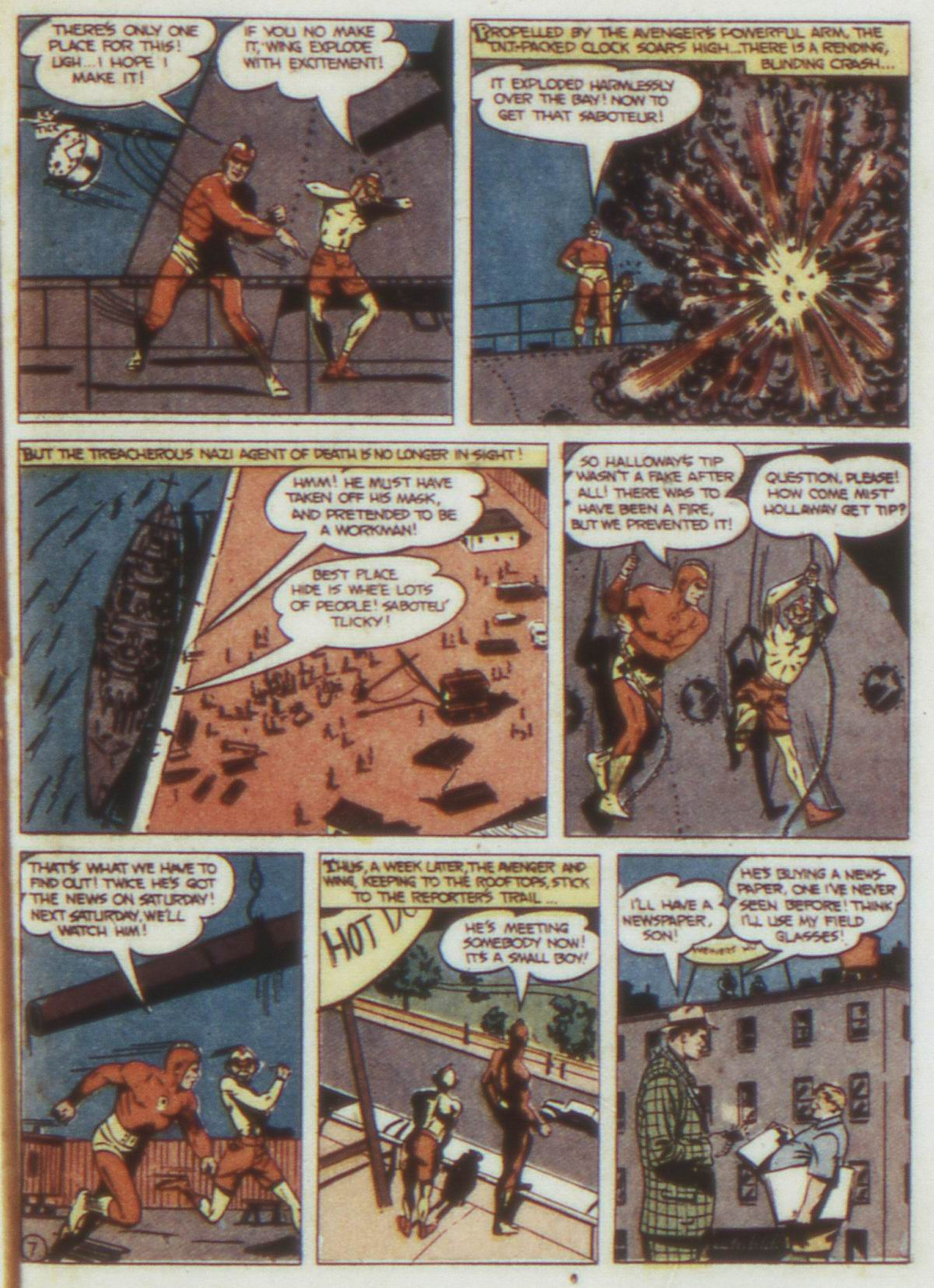 Read online Detective Comics (1937) comic -  Issue #74 - 37