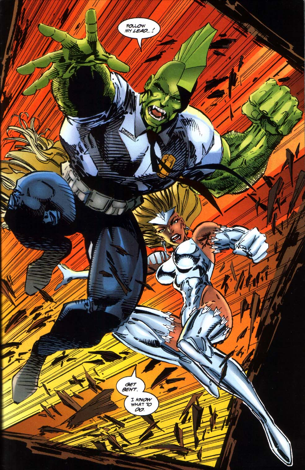 The Savage Dragon (1993) Issue #4 #6 - English 10
