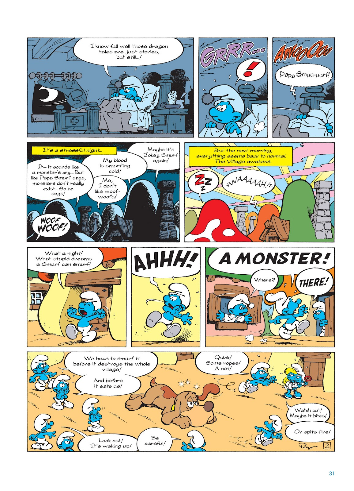 Read online The Smurfs comic -  Issue #15 - 32