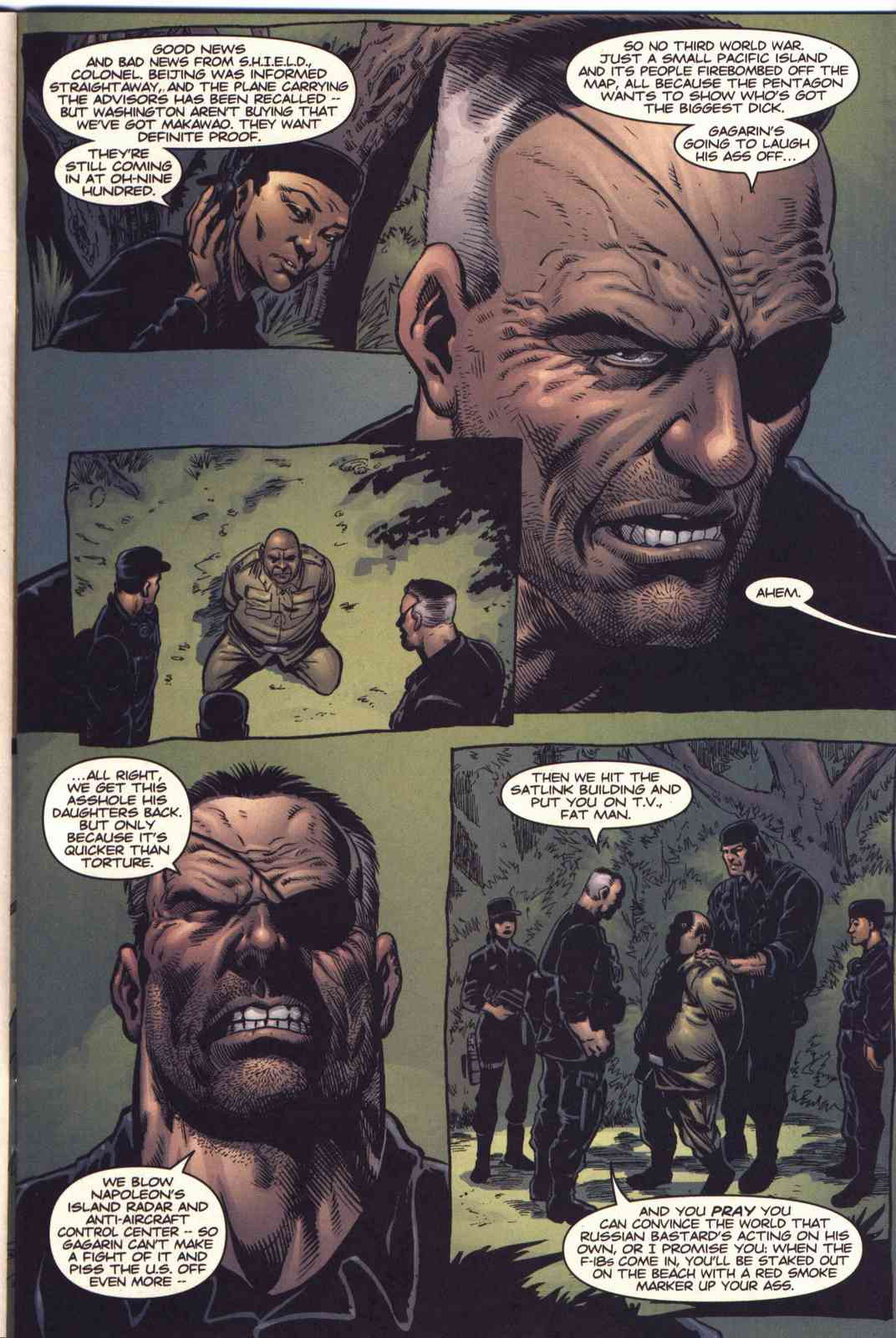 Read online Fury comic -  Issue #5 - 4