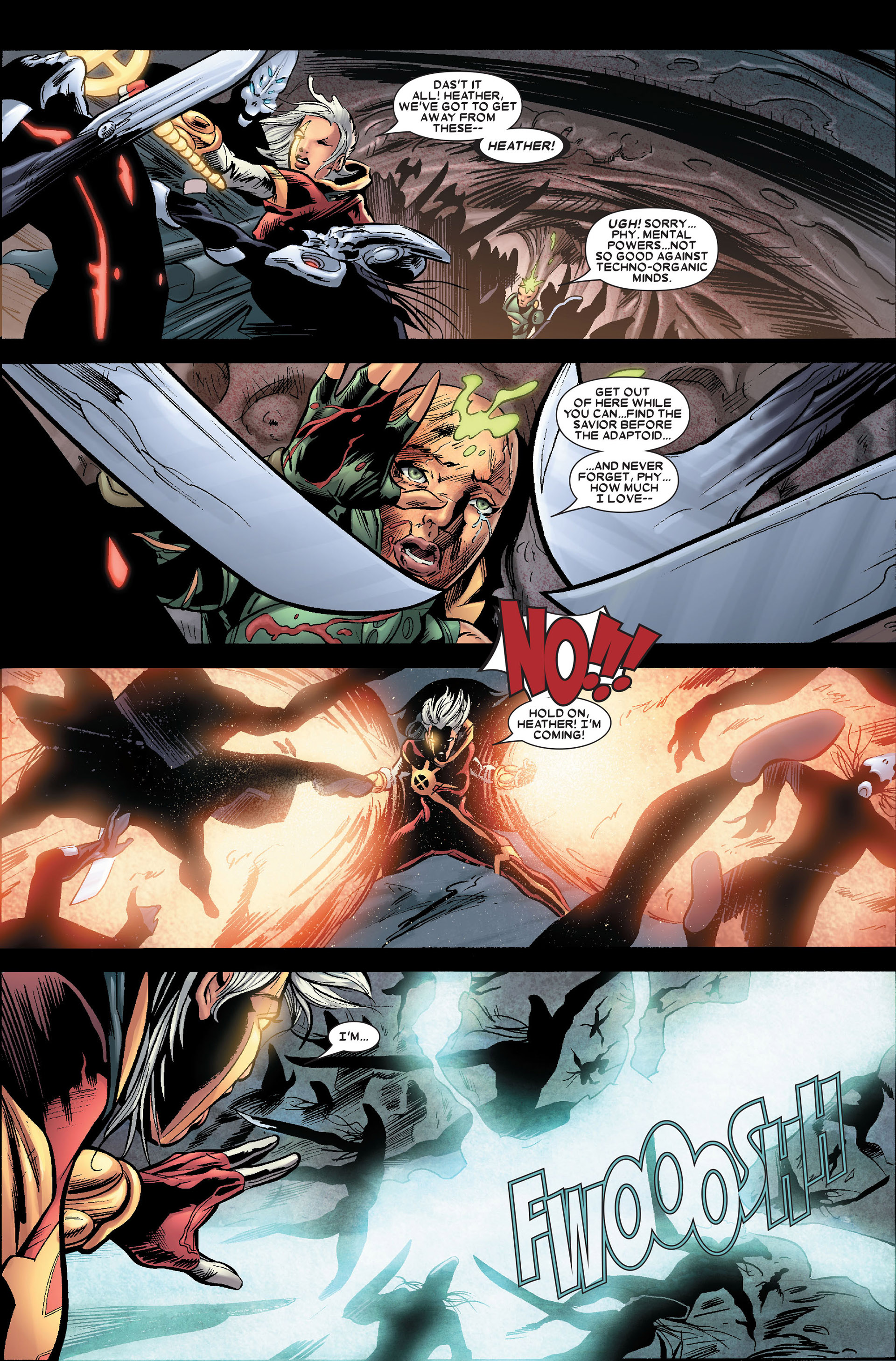 Read online Annihilation: Conquest - Quasar comic -  Issue #2 - 21