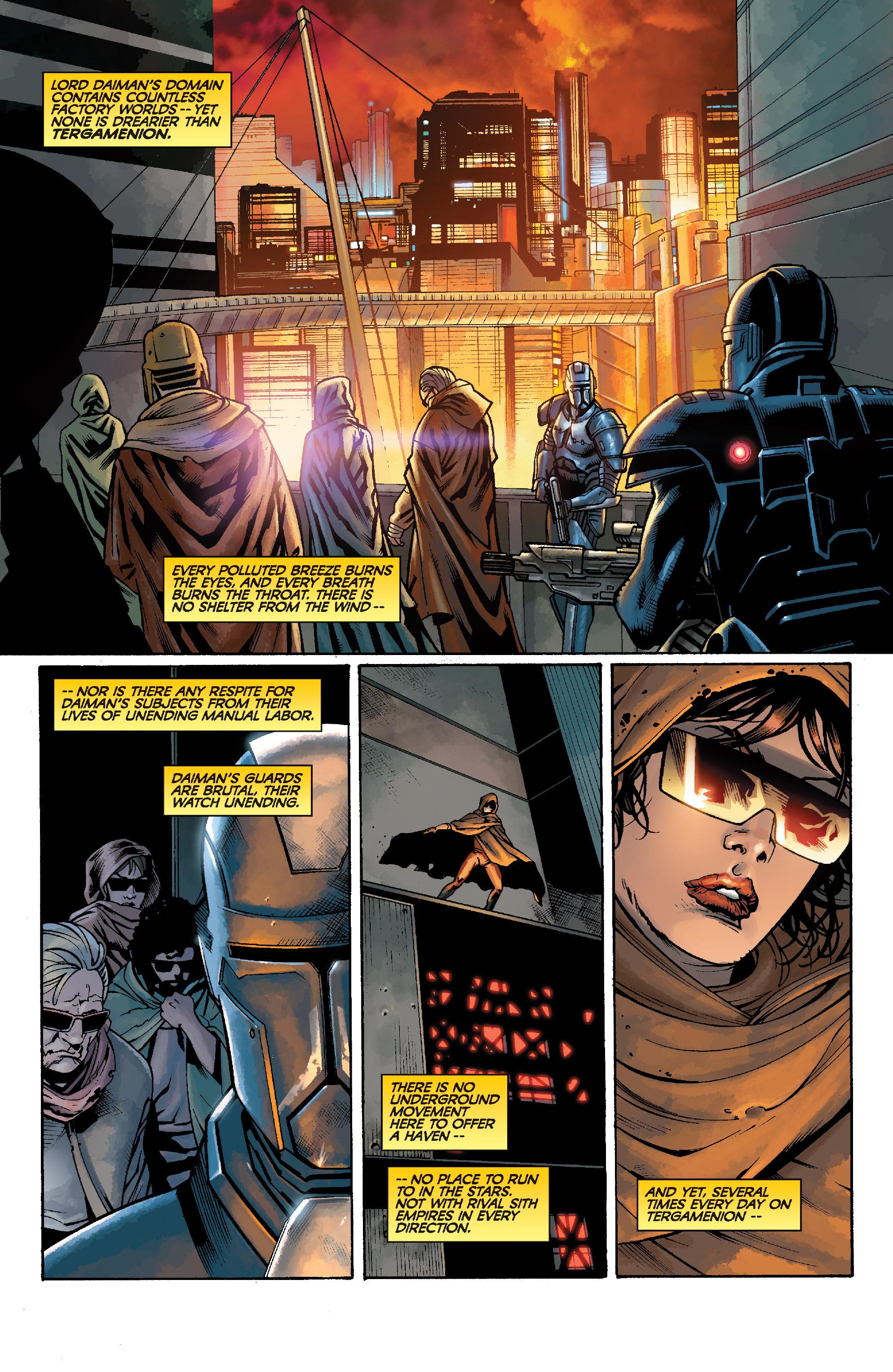 Read online Star Wars: Knight Errant - Escape comic -  Issue #1 - 3