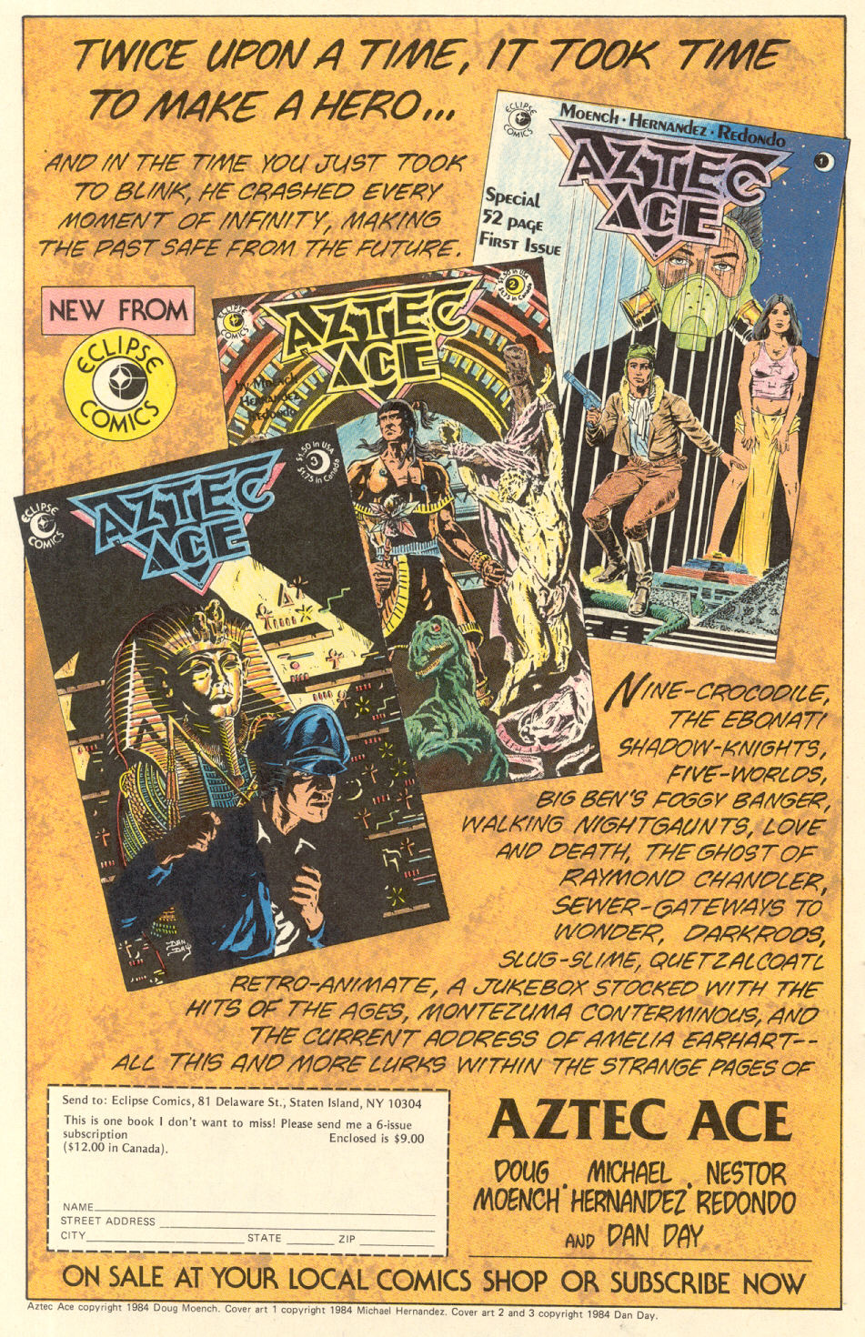 Read online Twisted Tales (1982) comic -  Issue #9 - 18