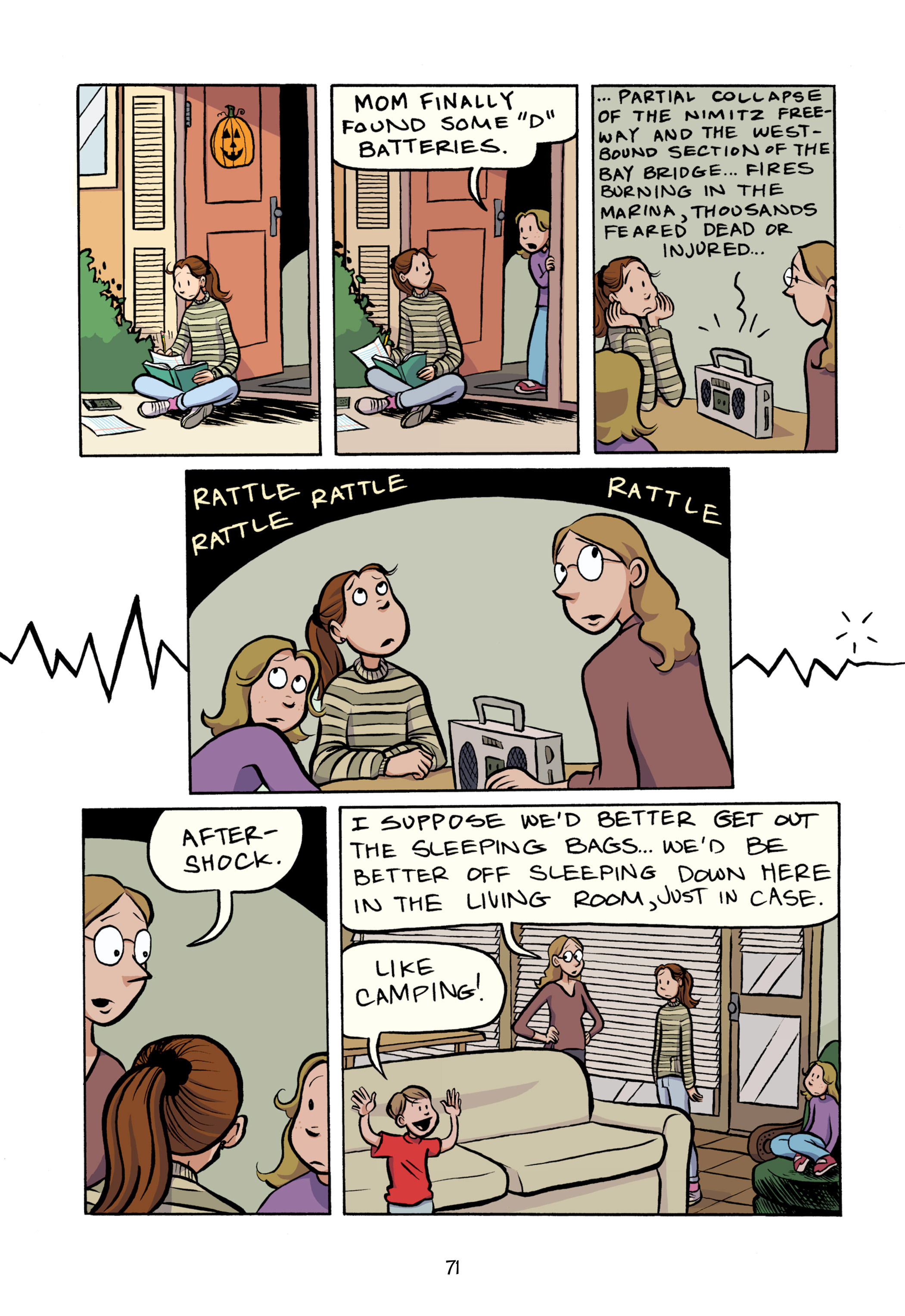 Read online Smile comic -  Issue # TPB - 77