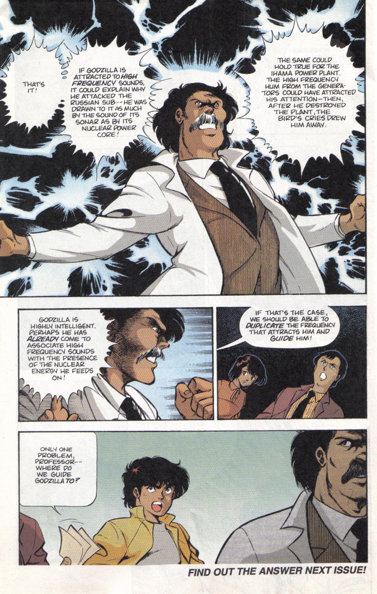 Read online Dark Horse Classics: Terror of Godzilla comic -  Issue #3 - 32