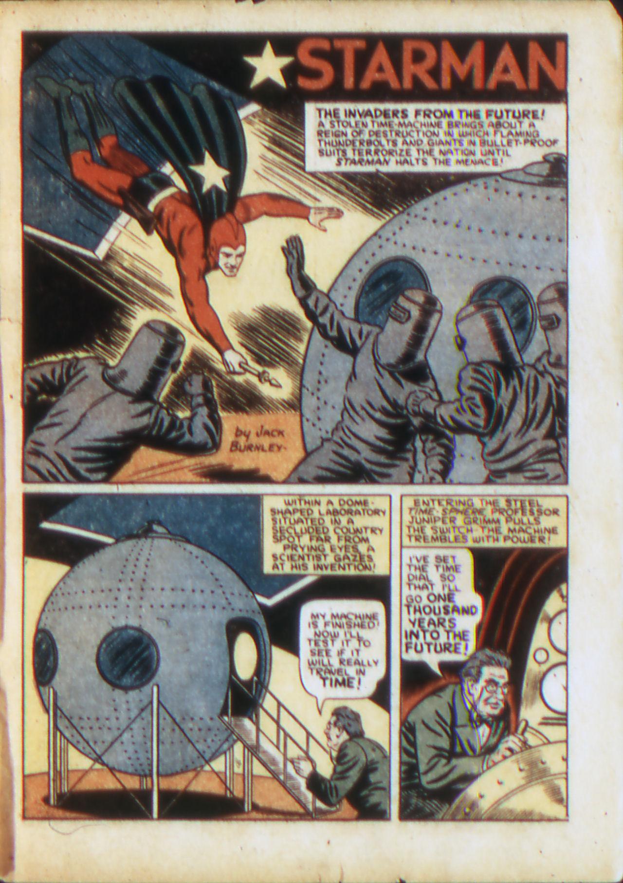 Read online Adventure Comics (1938) comic -  Issue #71 - 4