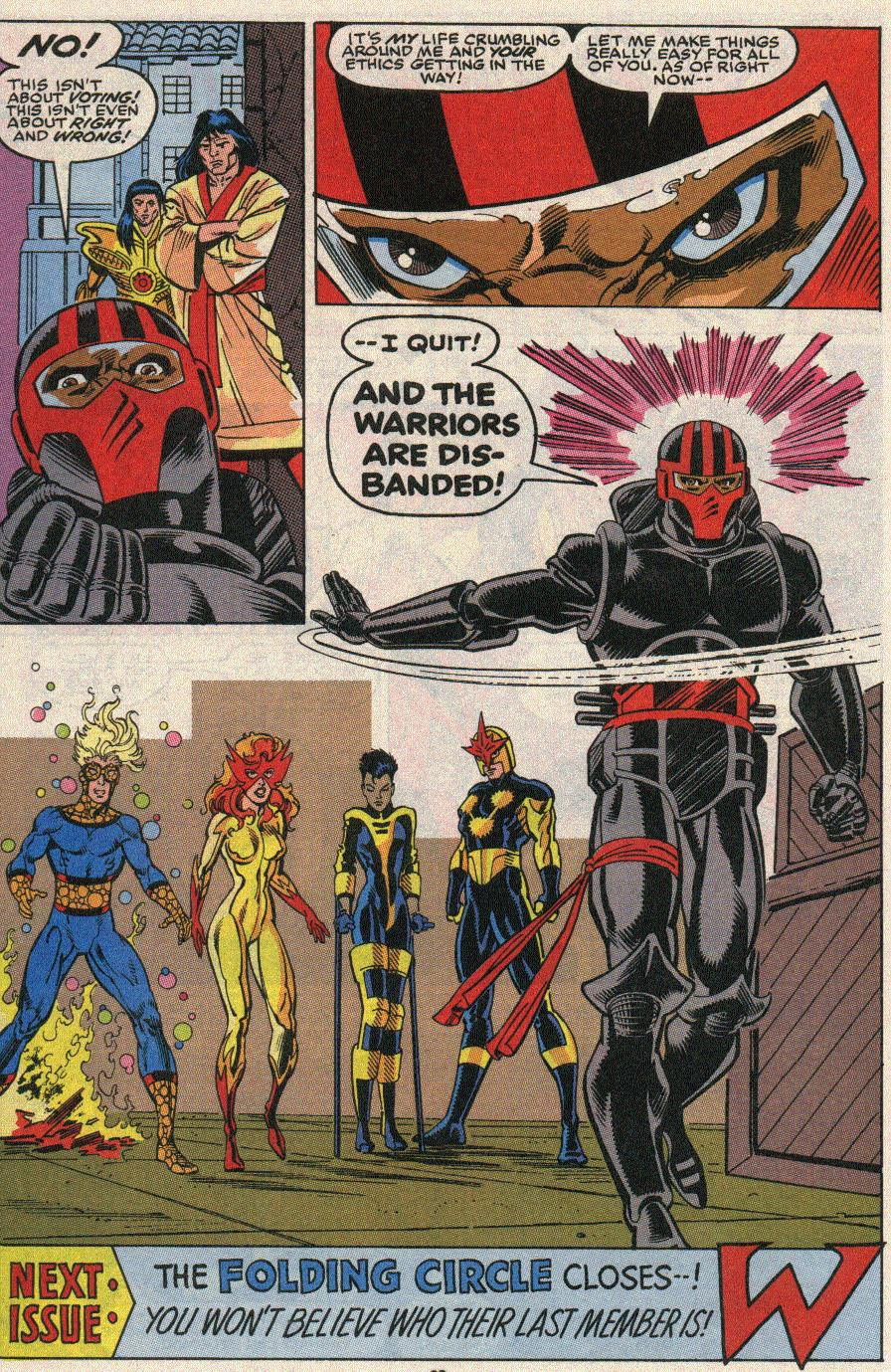 The New Warriors Issue #20 #24 - English 23