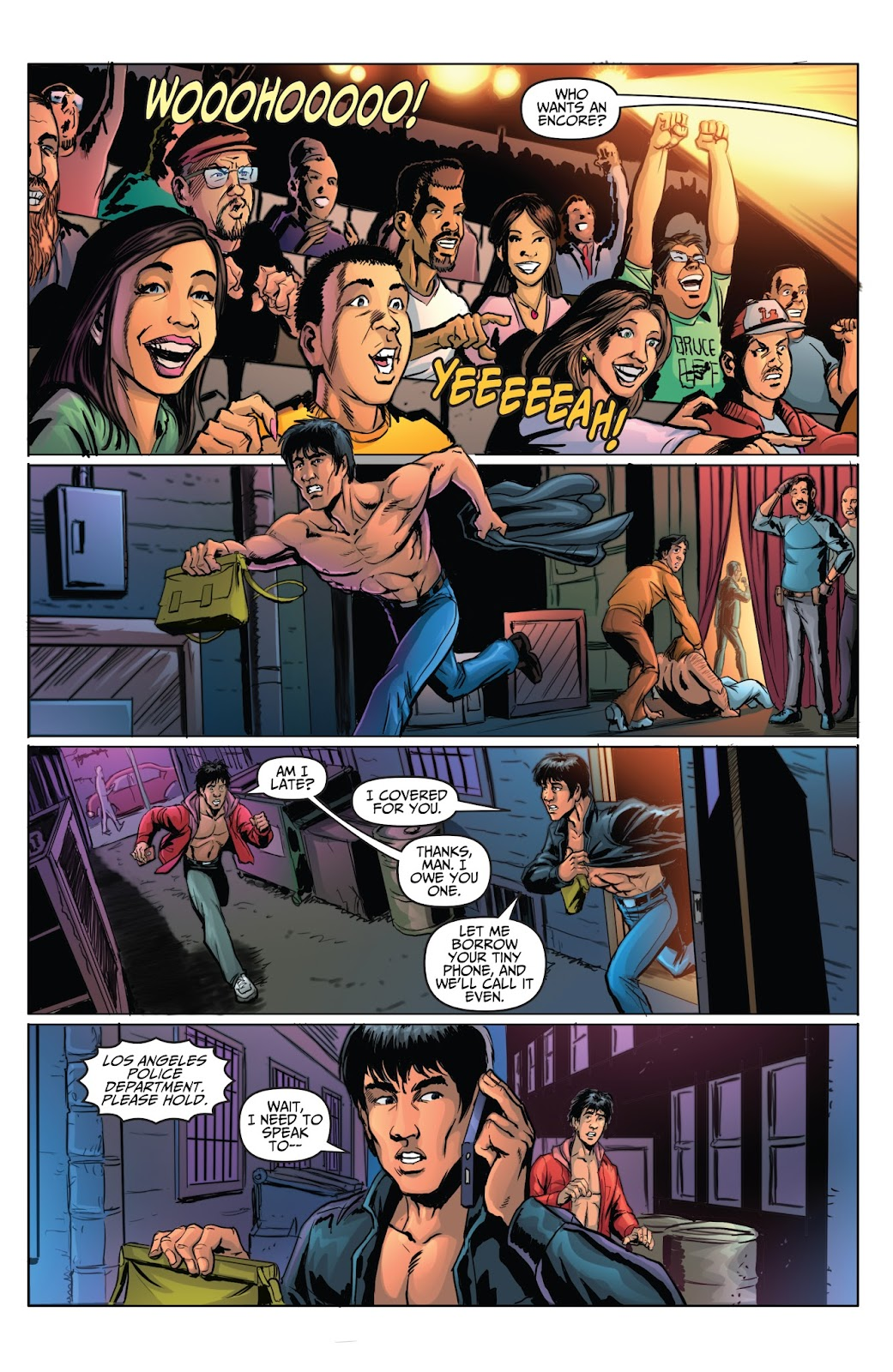 Bruce Lee: Walk of the Dragon issue Full - Page 18
