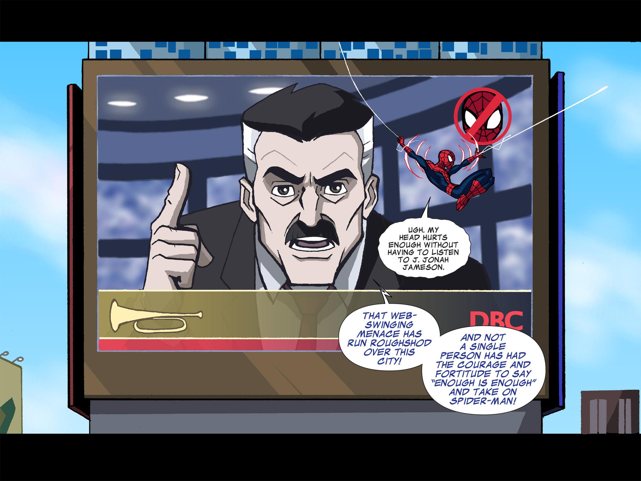 Read online Ultimate Spider-Man (Infinite Comics) (2015) comic -  Issue #1 - 29