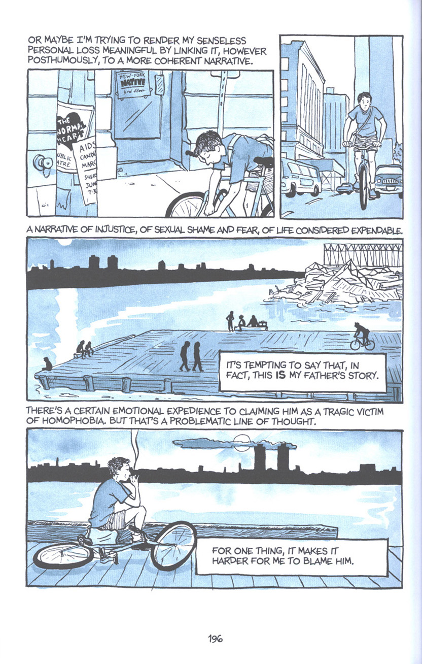Read online Fun Home: A Family Tragicomic comic -  Issue # TPB - 202