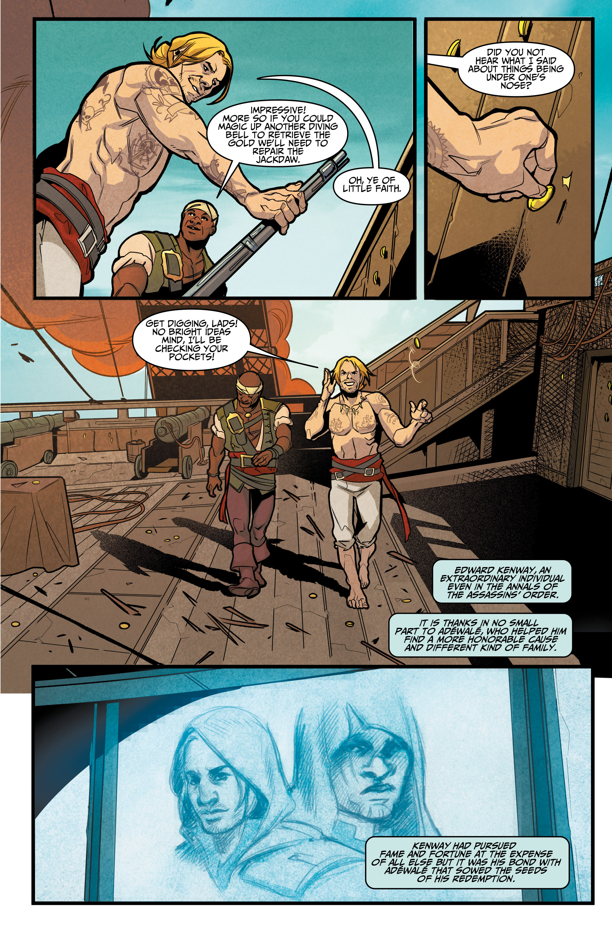 Read online Assassin's Creed: Reflections comic -  Issue #3 - 23