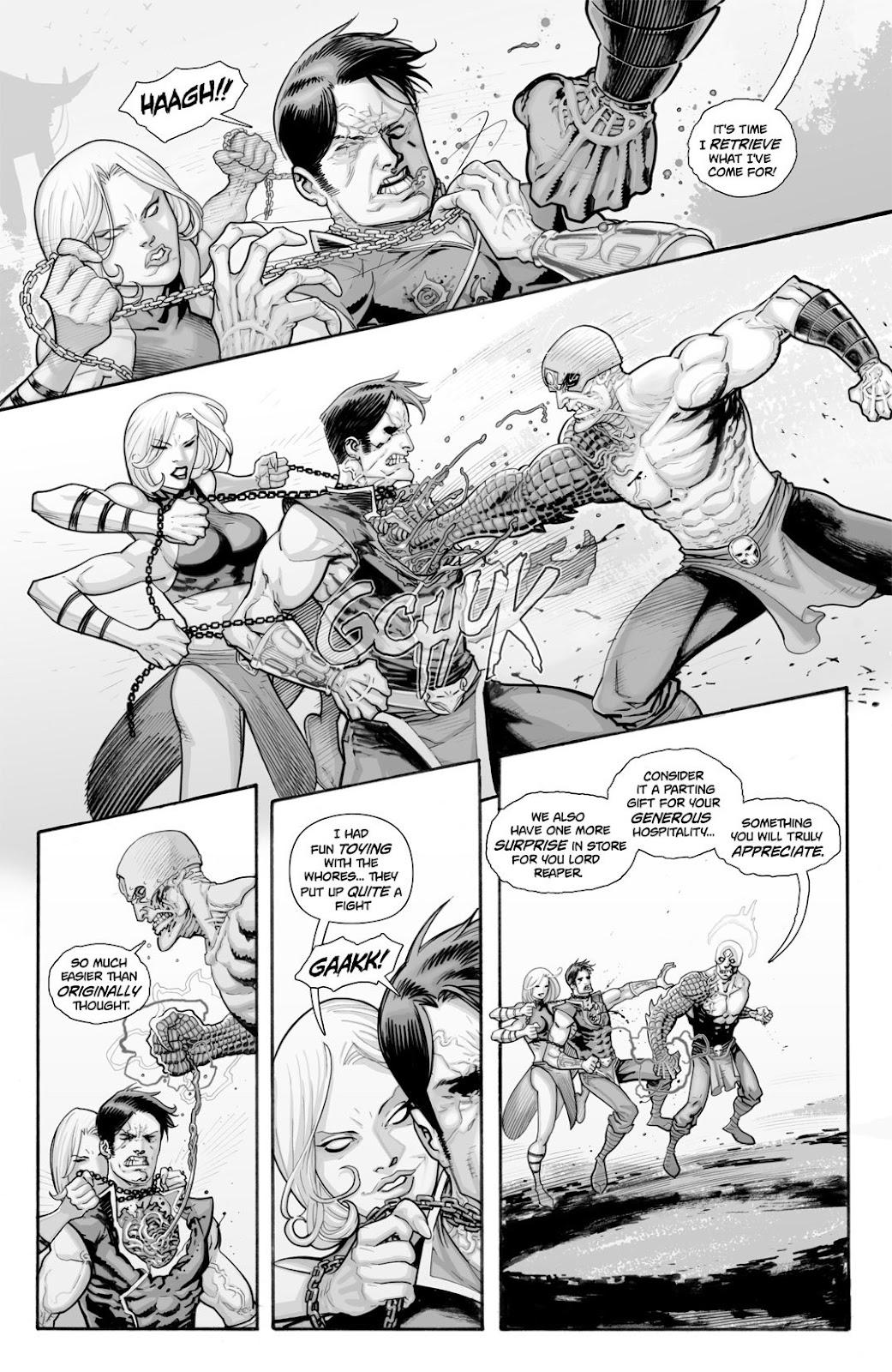 Read online Reaper comic -  Issue #2 - 30