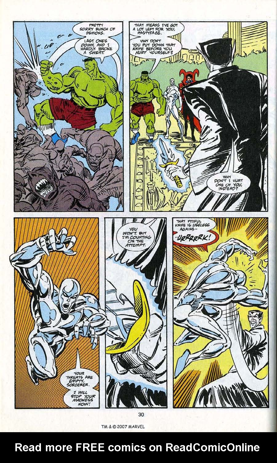 Read online Silver Surfer (1987) comic -  Issue # _Annual 5 - 32