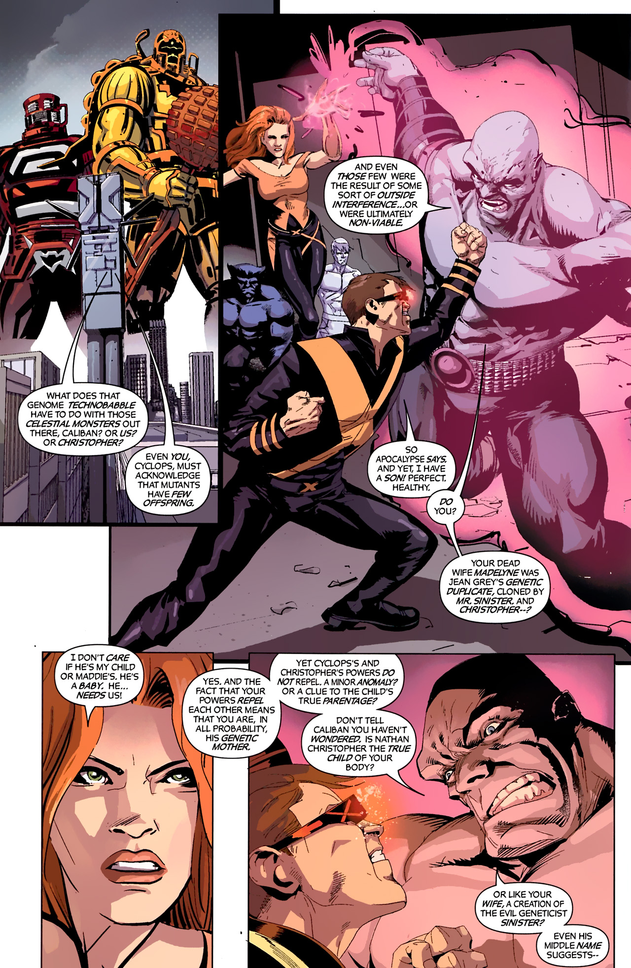Read online X-Factor Forever comic -  Issue #4 - 6