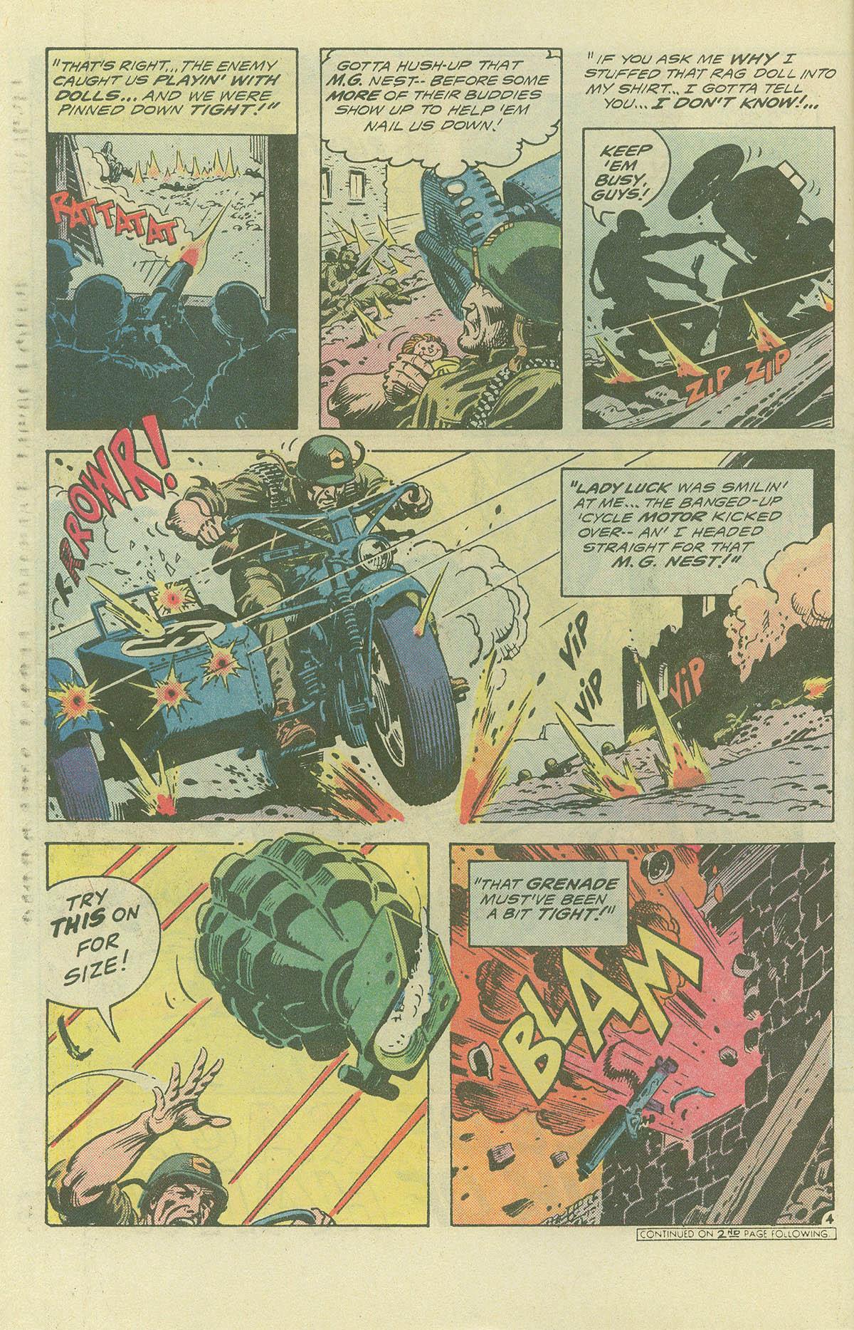 Read online Sgt. Rock comic -  Issue #396 - 5