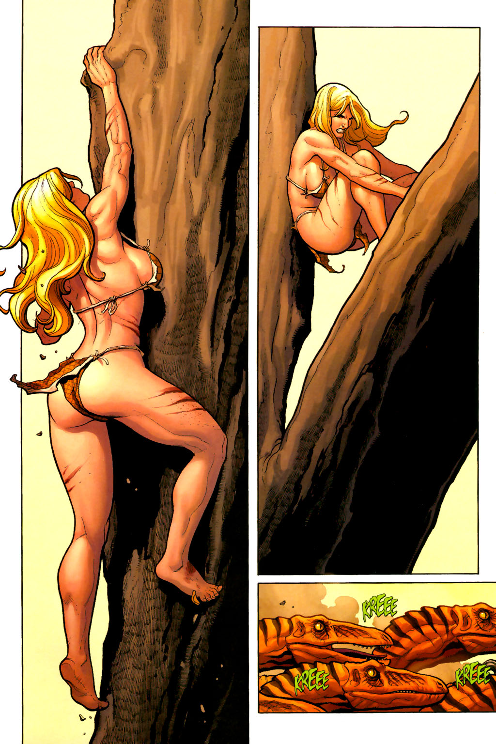 Read online Shanna, the She-Devil (2005) comic -  Issue #7 - 11