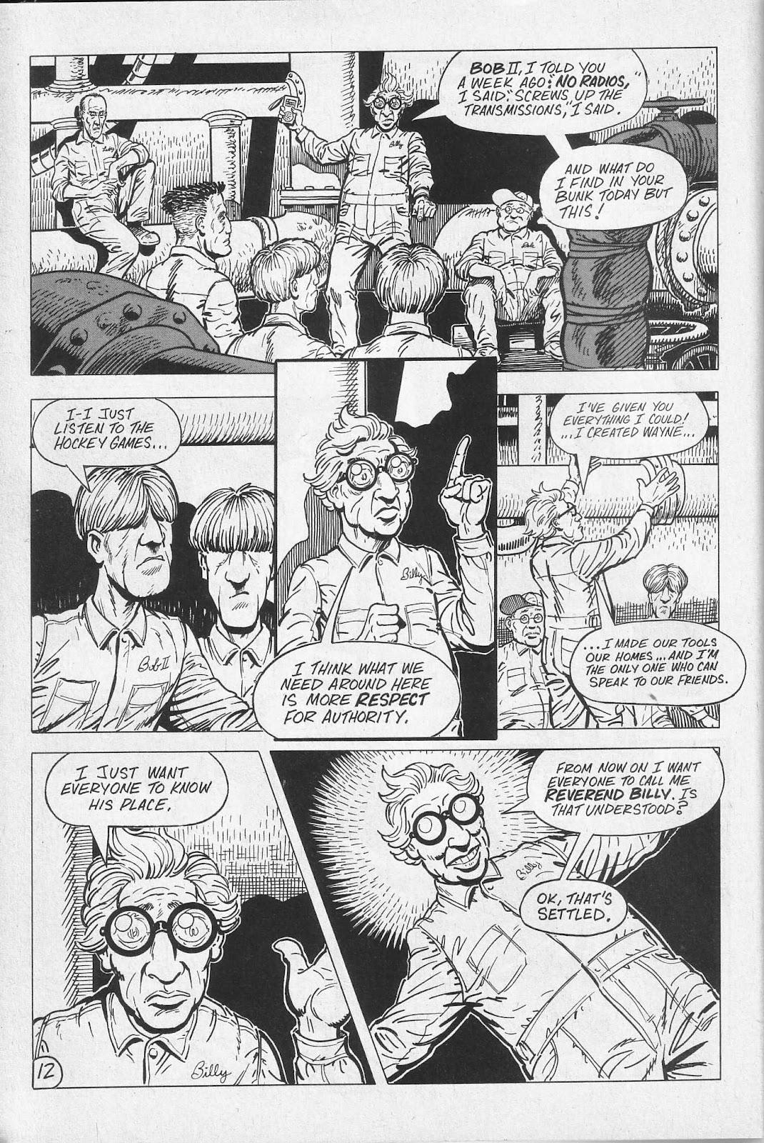 Read online Paul the Samurai (1991) comic -  Issue # TPB - 18