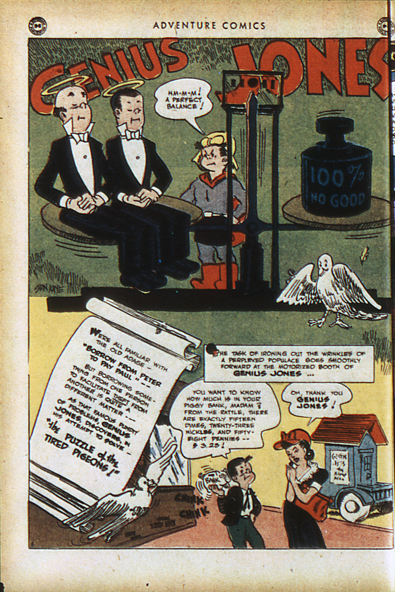 Read online Adventure Comics (1938) comic -  Issue #94 - 35