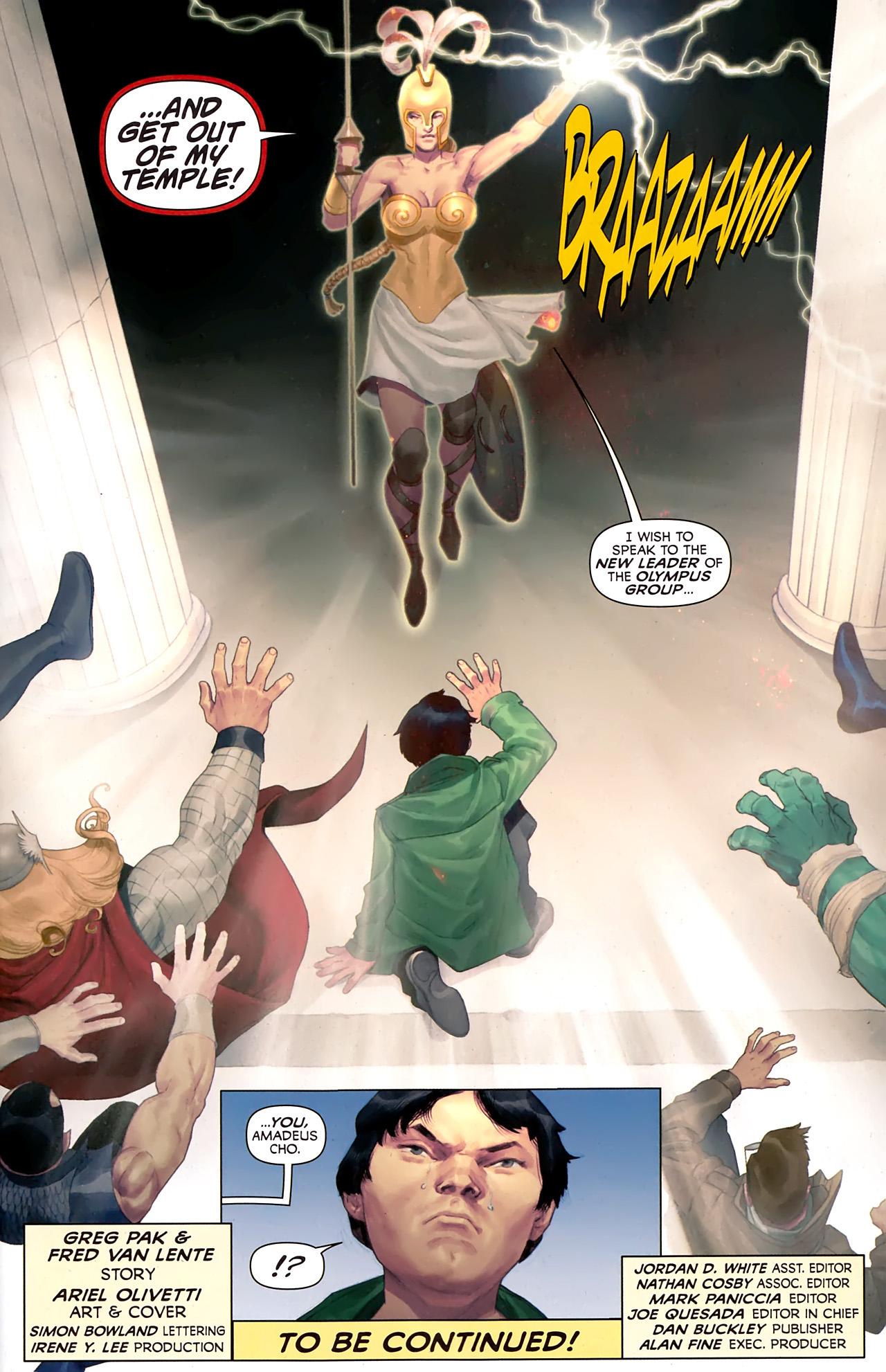 Read online Hercules: Fall of an Avenger comic -  Issue #1 - 22