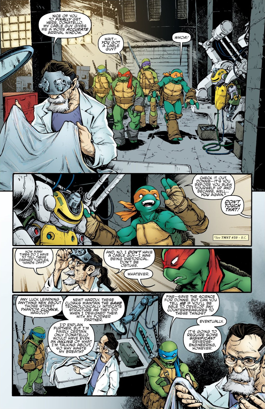 Read online Teenage Mutant Ninja Turtles: The IDW Collection comic -  Issue # TPB 7 (Part 2) - 24