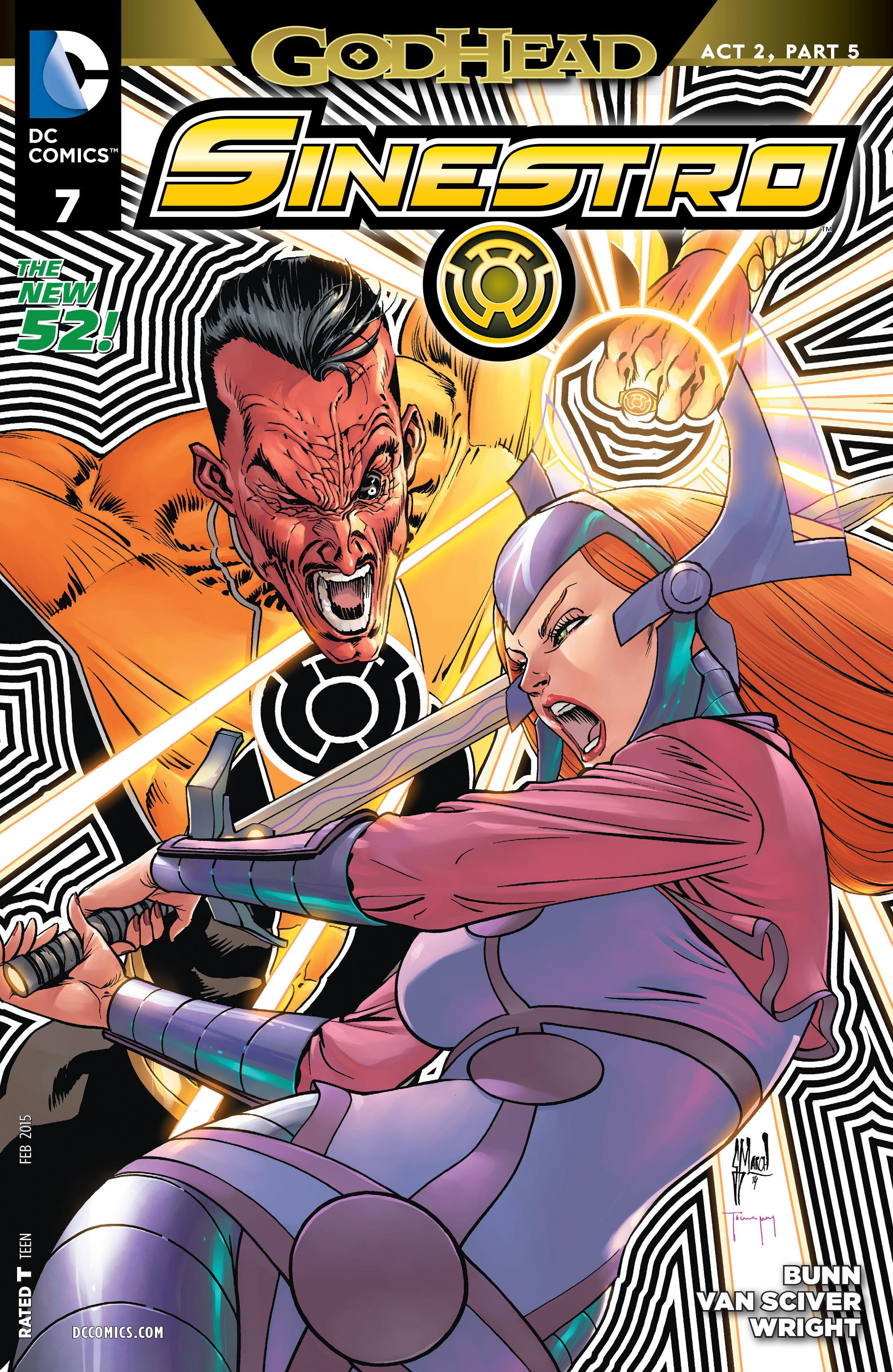 Read online Sinestro comic -  Issue #7 - 1
