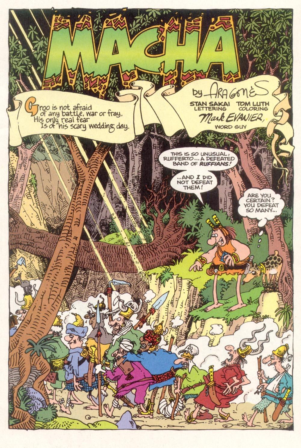 Read online Sergio Aragonés Groo the Wanderer comic -  Issue #117 - 3