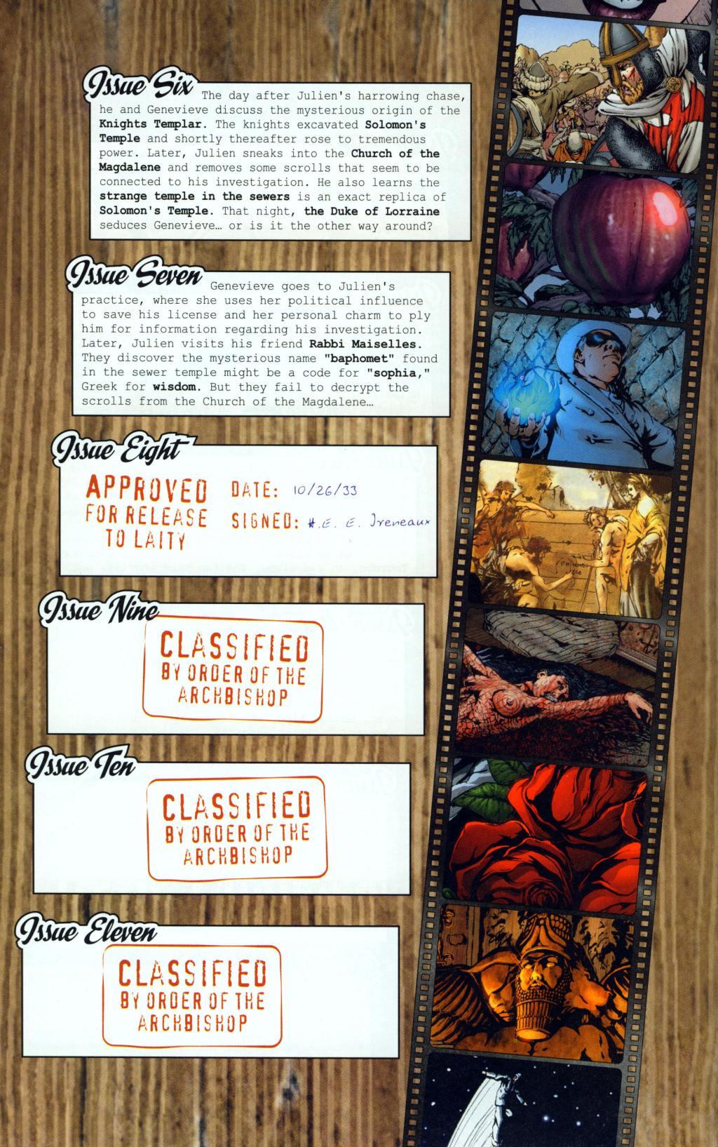 Read online Rex Mundi comic -  Issue #8 - 4