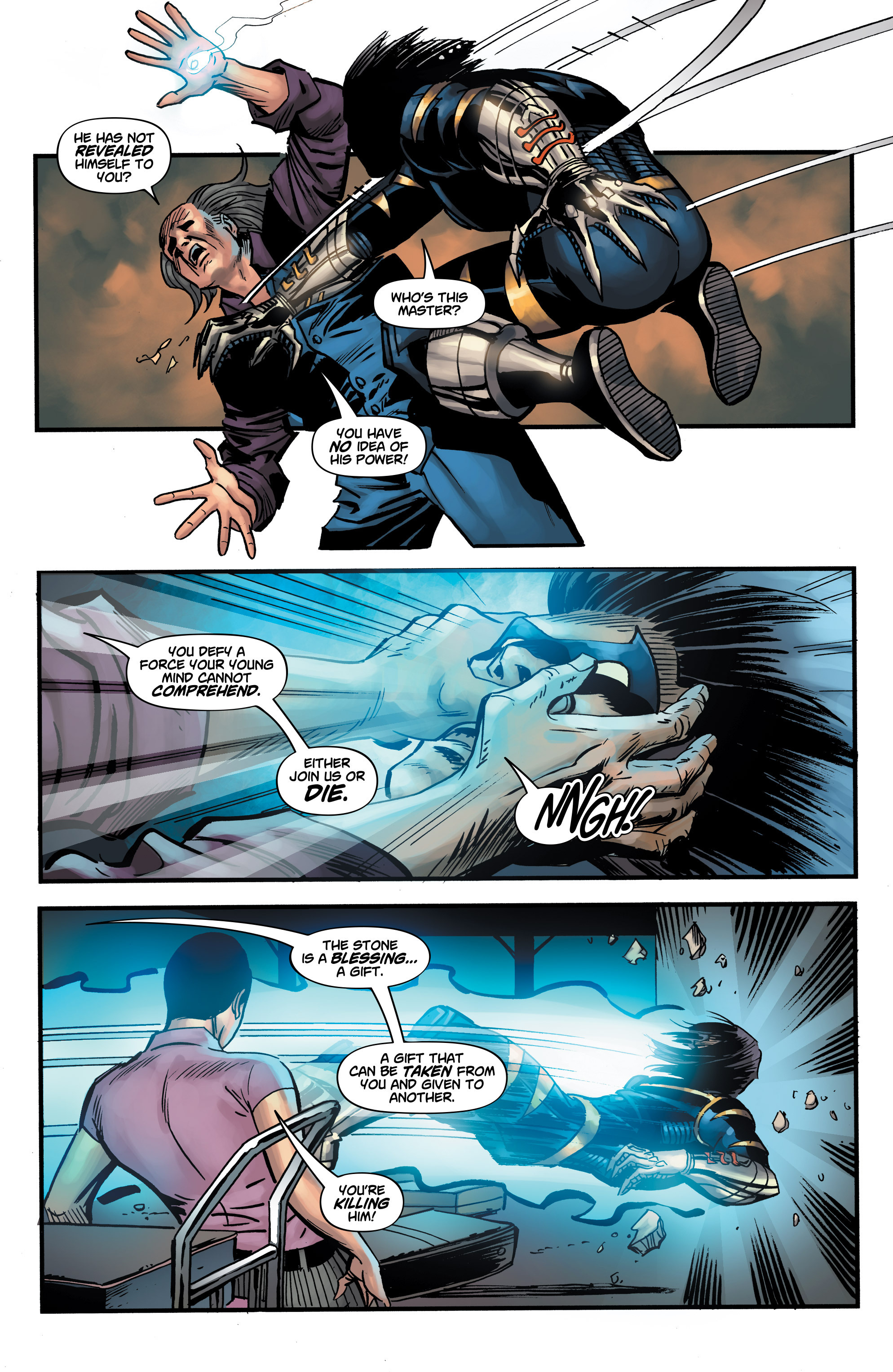 Read online Shadow Tiger comic -  Issue #3 - 21
