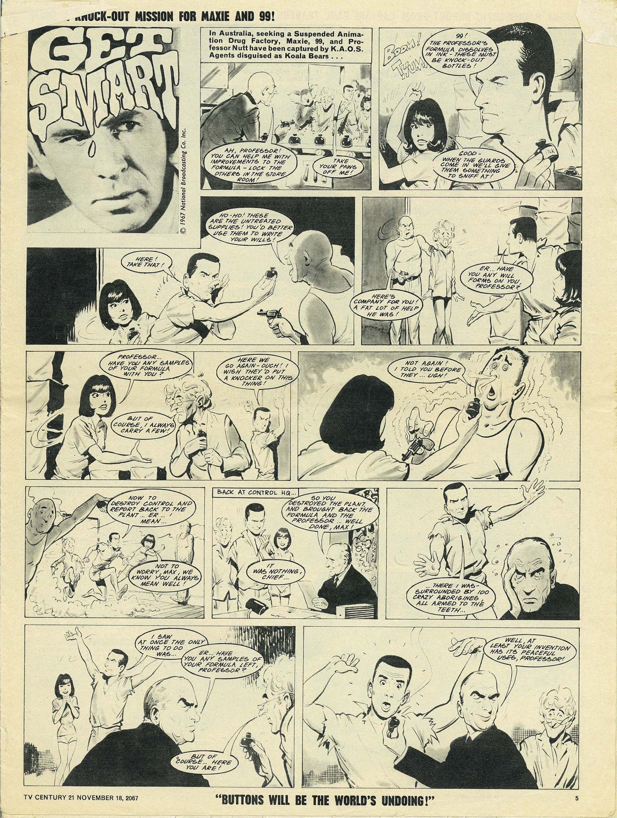 Read online TV Century 21 (TV 21) comic -  Issue #148 - 5