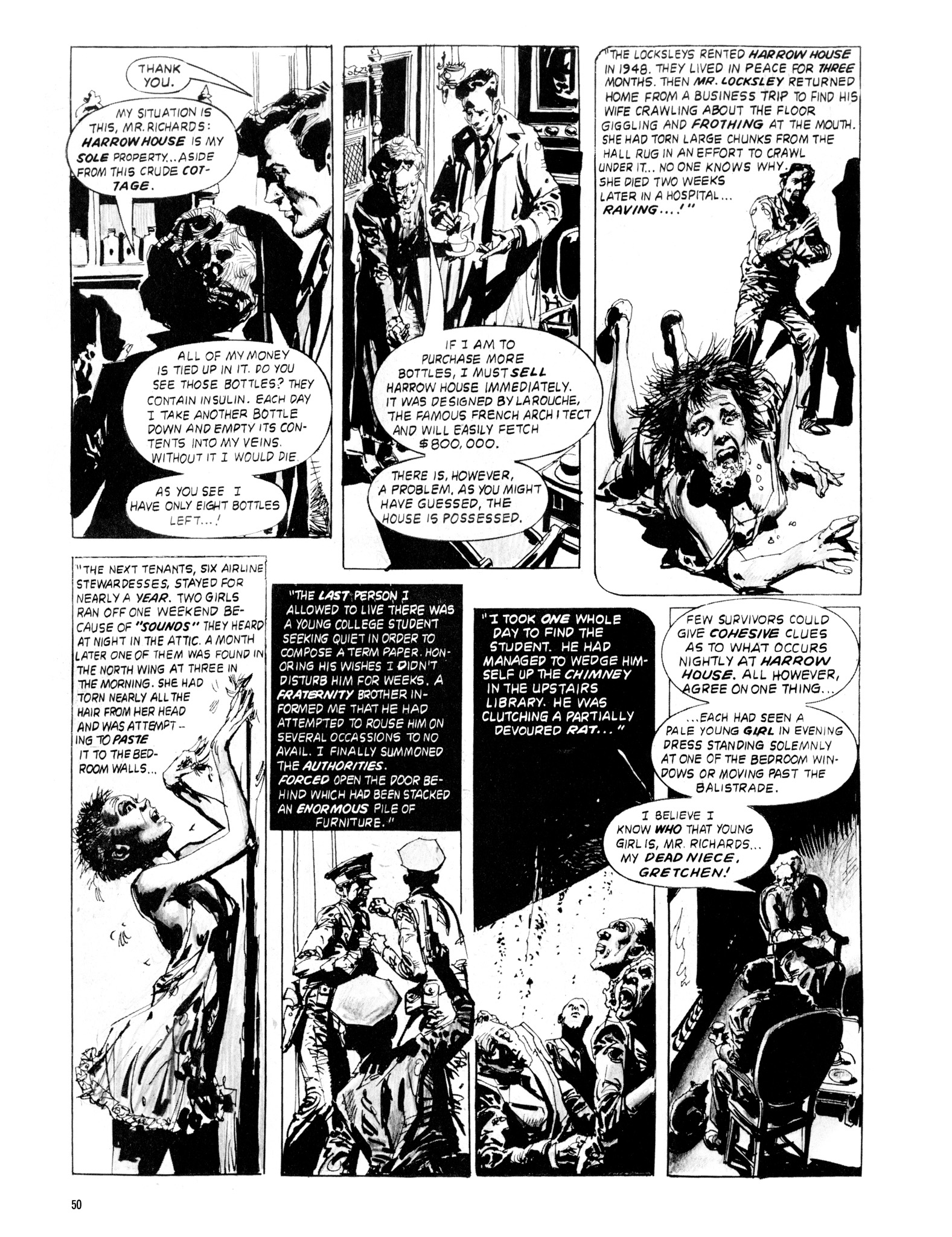 Read online Eerie Archives comic -  Issue # TPB 20 - 50