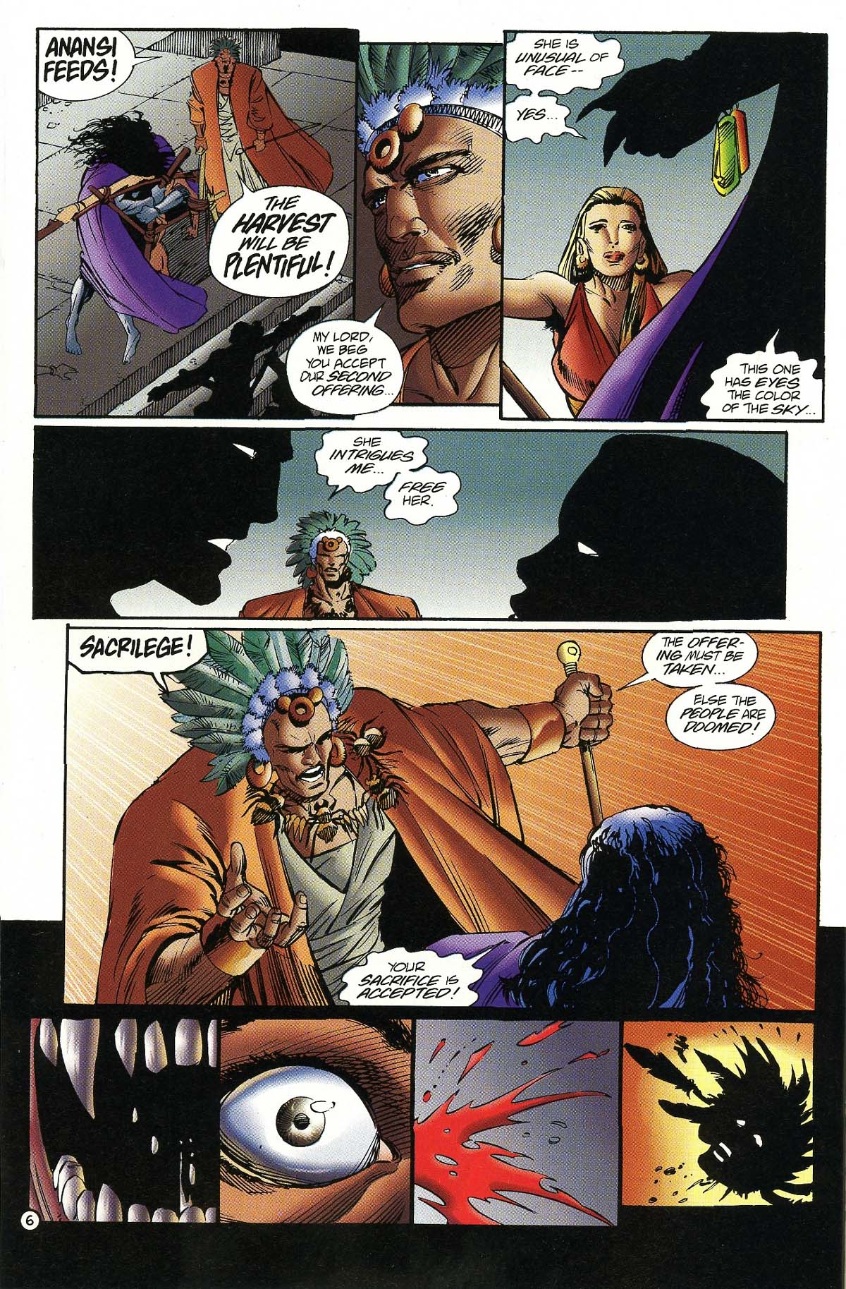 Read online Rune (1994) comic -  Issue #7 - 8