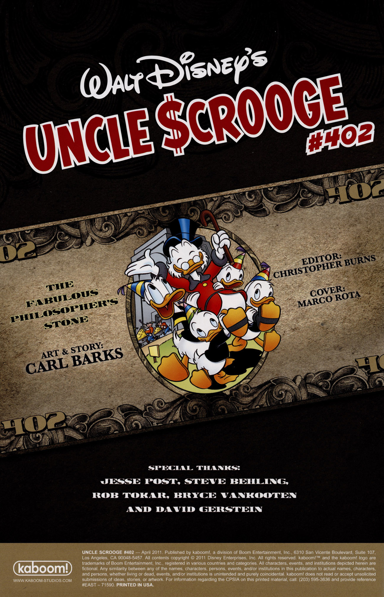 Read online Uncle Scrooge (1953) comic -  Issue #402 - 2