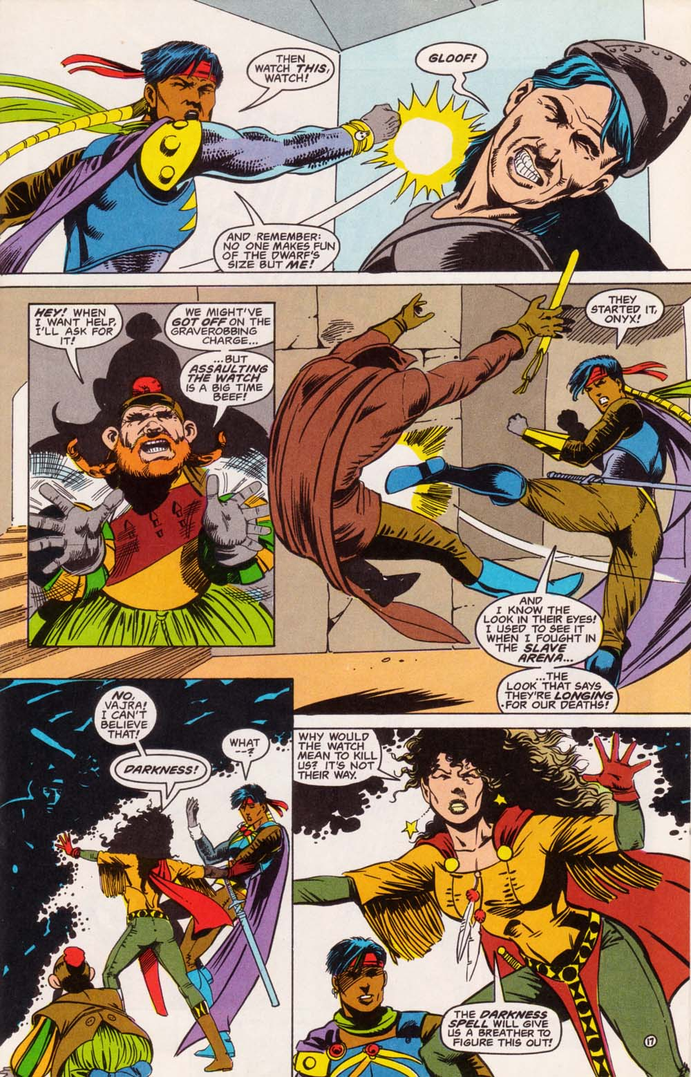 Read online Advanced Dungeons & Dragons comic -  Issue #5 - 18