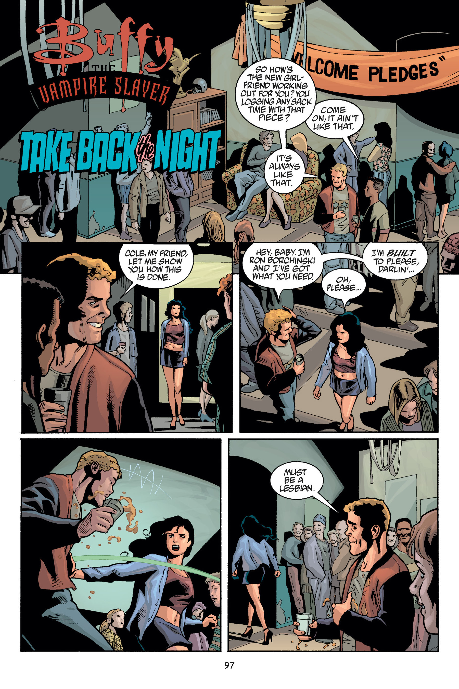 Read online Buffy the Vampire Slayer: Omnibus comic -  Issue # TPB 5 - 98
