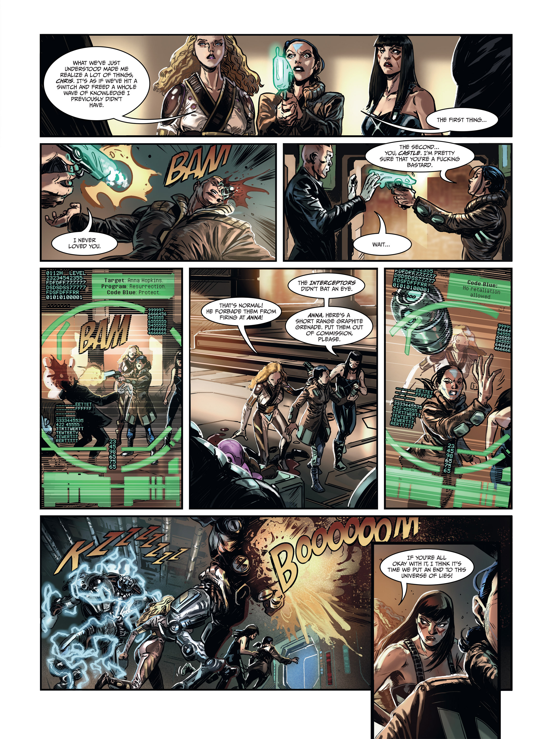 Read online Androïds comic -  Issue #1 - 55