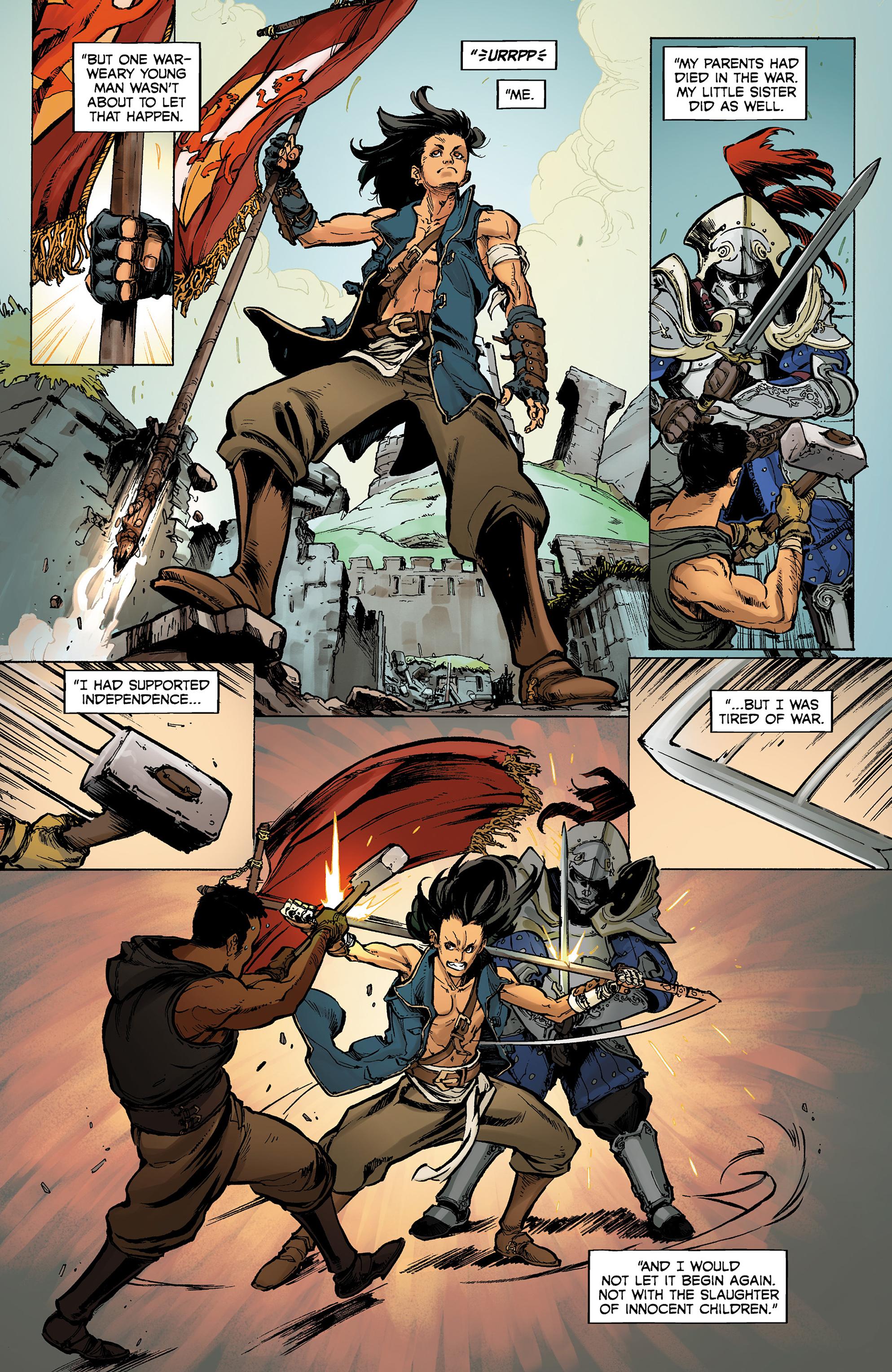 Read online Dragon Age: Knight Errant comic -  Issue #1 - 4