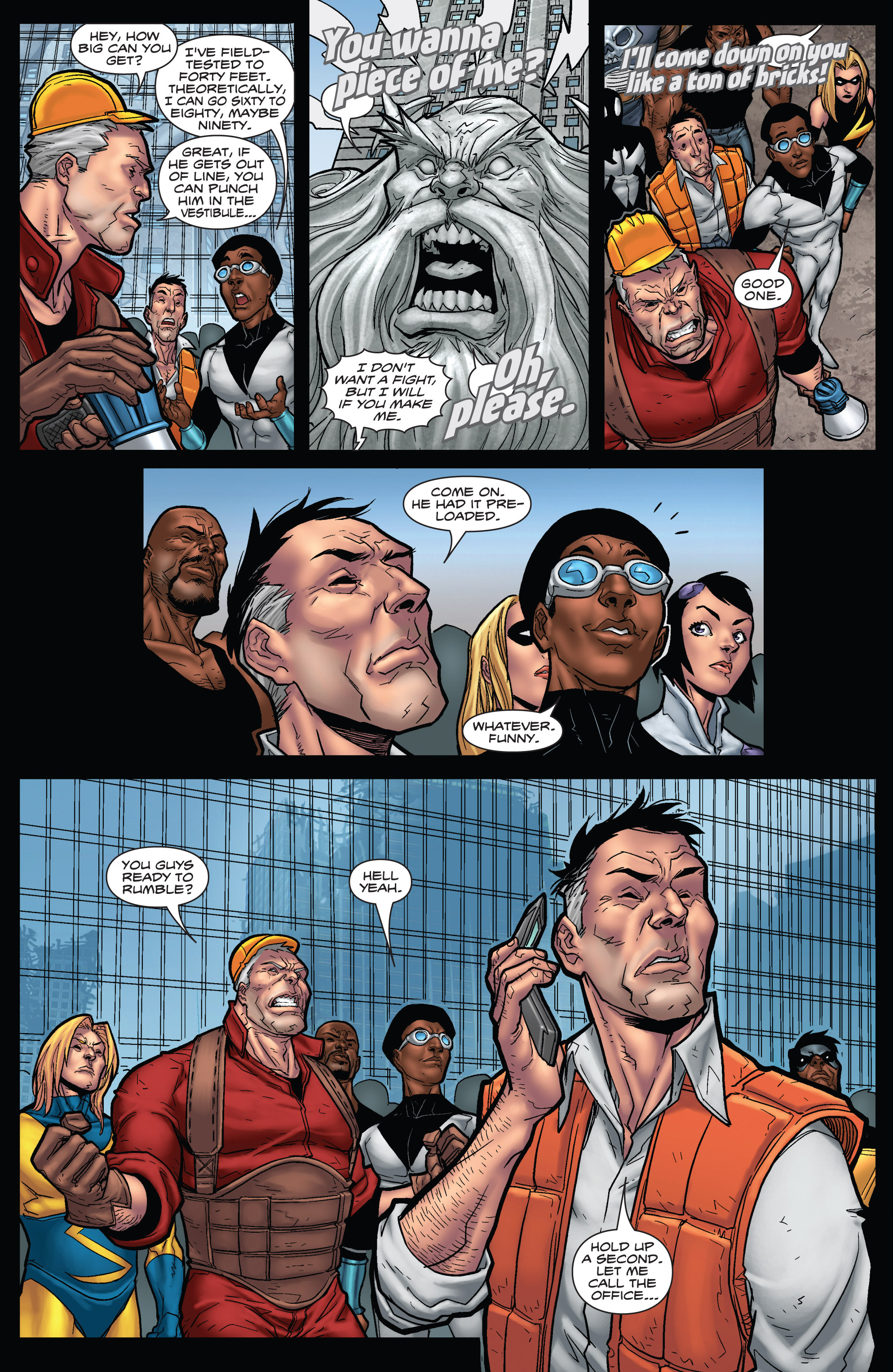 Read online WWH Aftersmash: Damage Control comic -  Issue #3 - 15