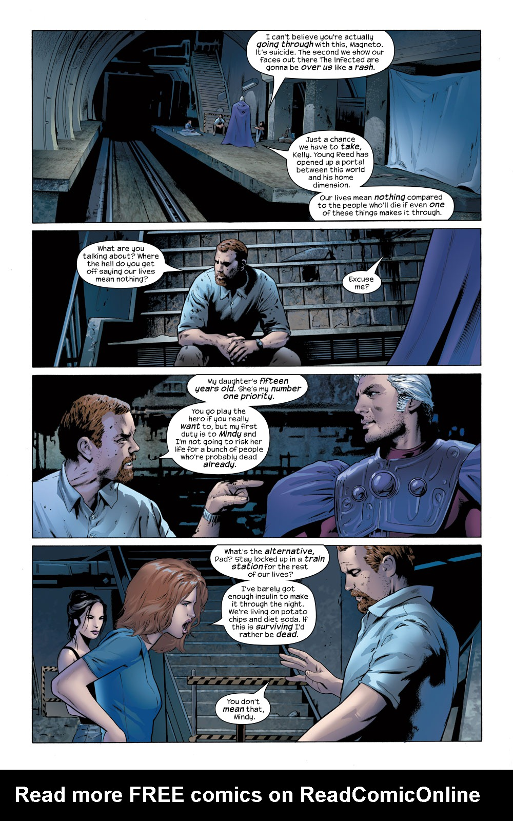 Read online Ultimate Fantastic Four (2004) comic -  Issue #23 - 8