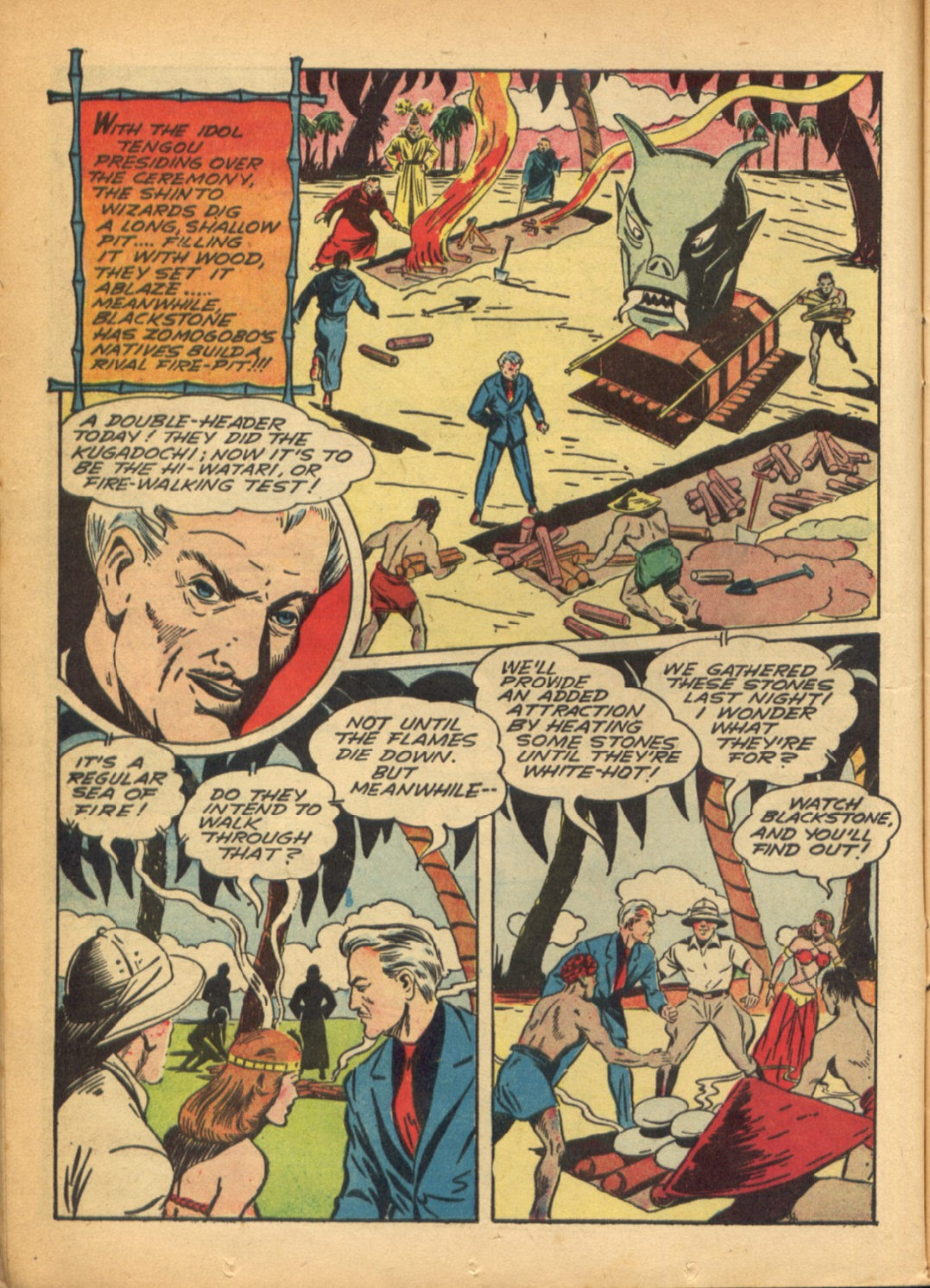 Read online Super-Magician Comics comic -  Issue #6 - 22